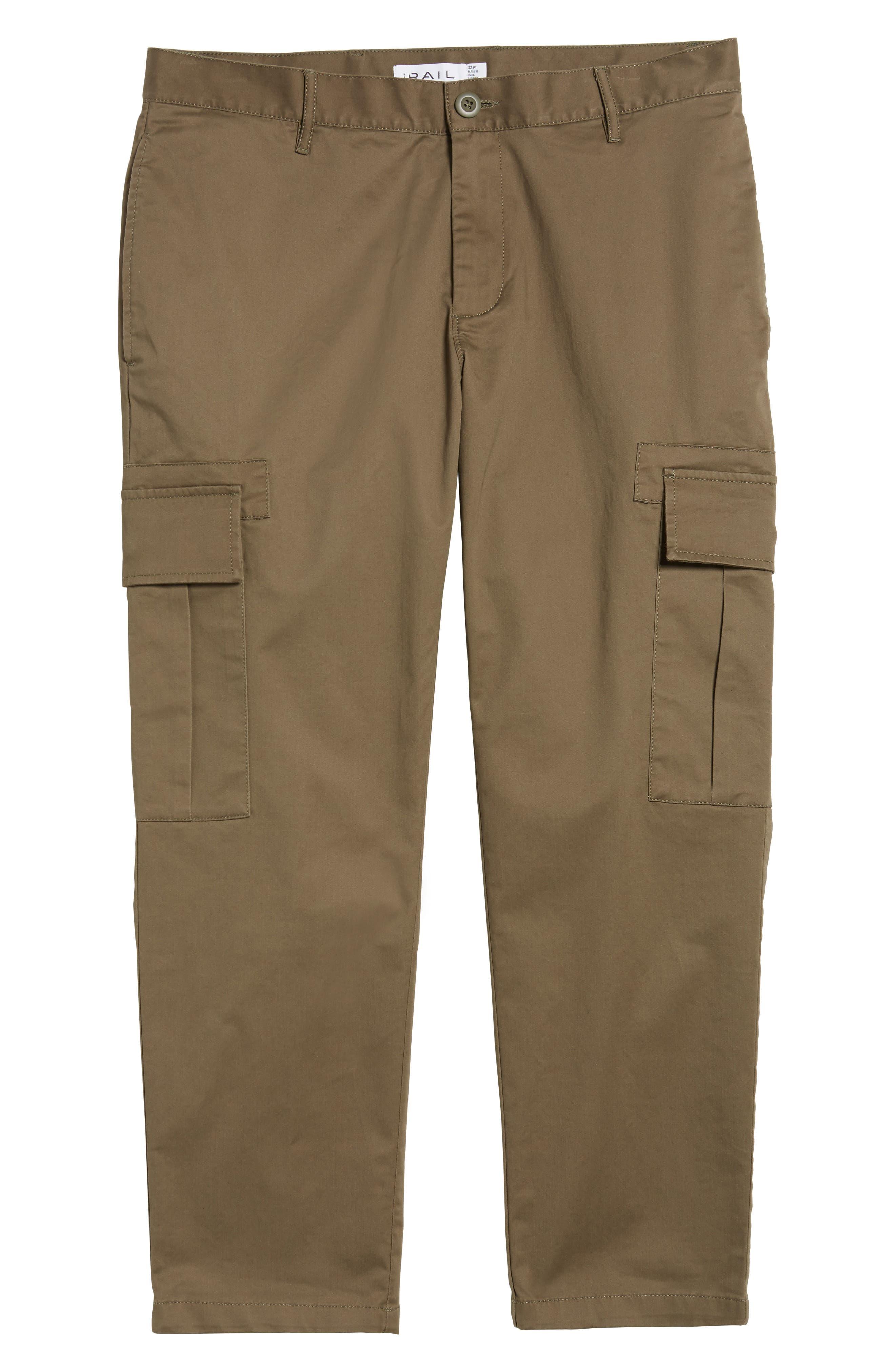 Crop Cargo Pants,                             Alternate thumbnail 6, color,                             311