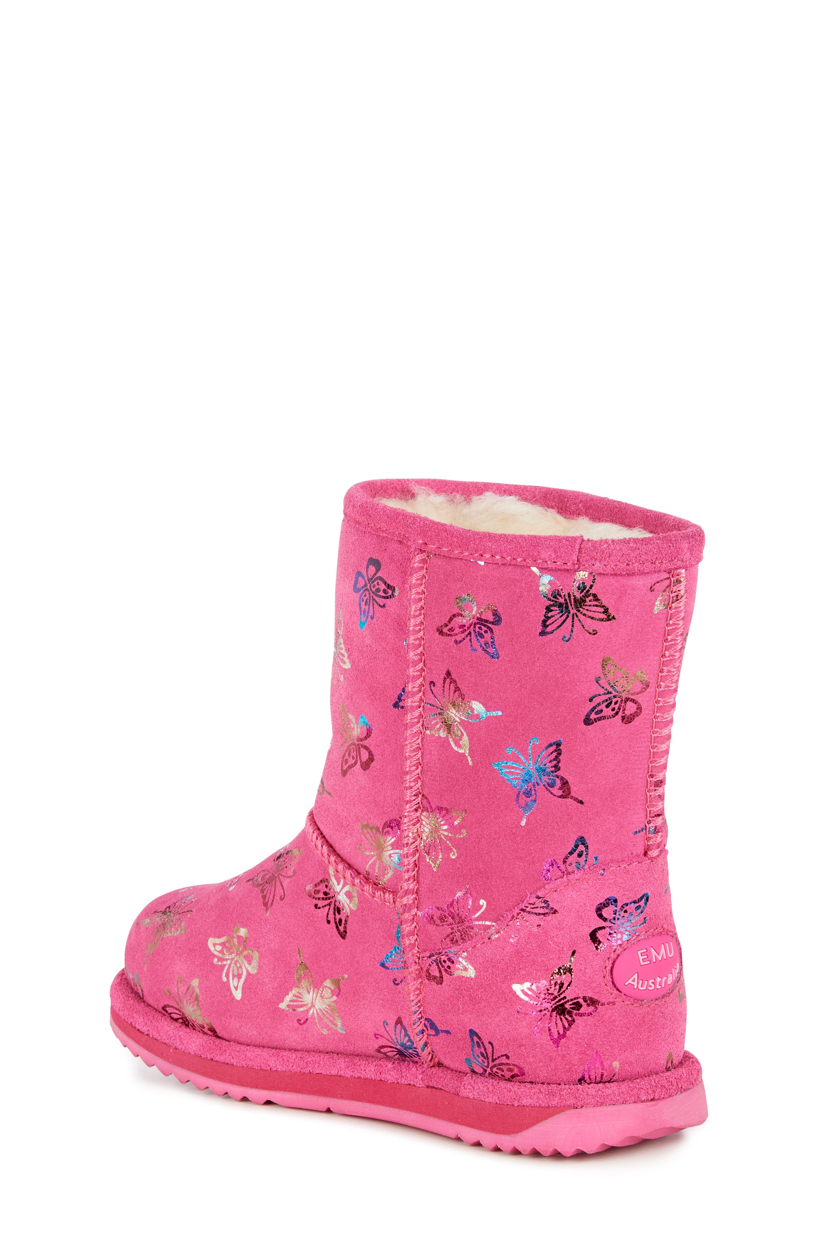 Animal Print Boots,                             Alternate thumbnail 2, color,                             HOT PINK