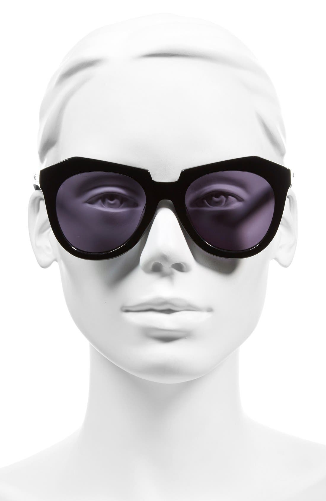 'Number One' 50mm Sunglasses,                             Alternate thumbnail 2, color,                             001