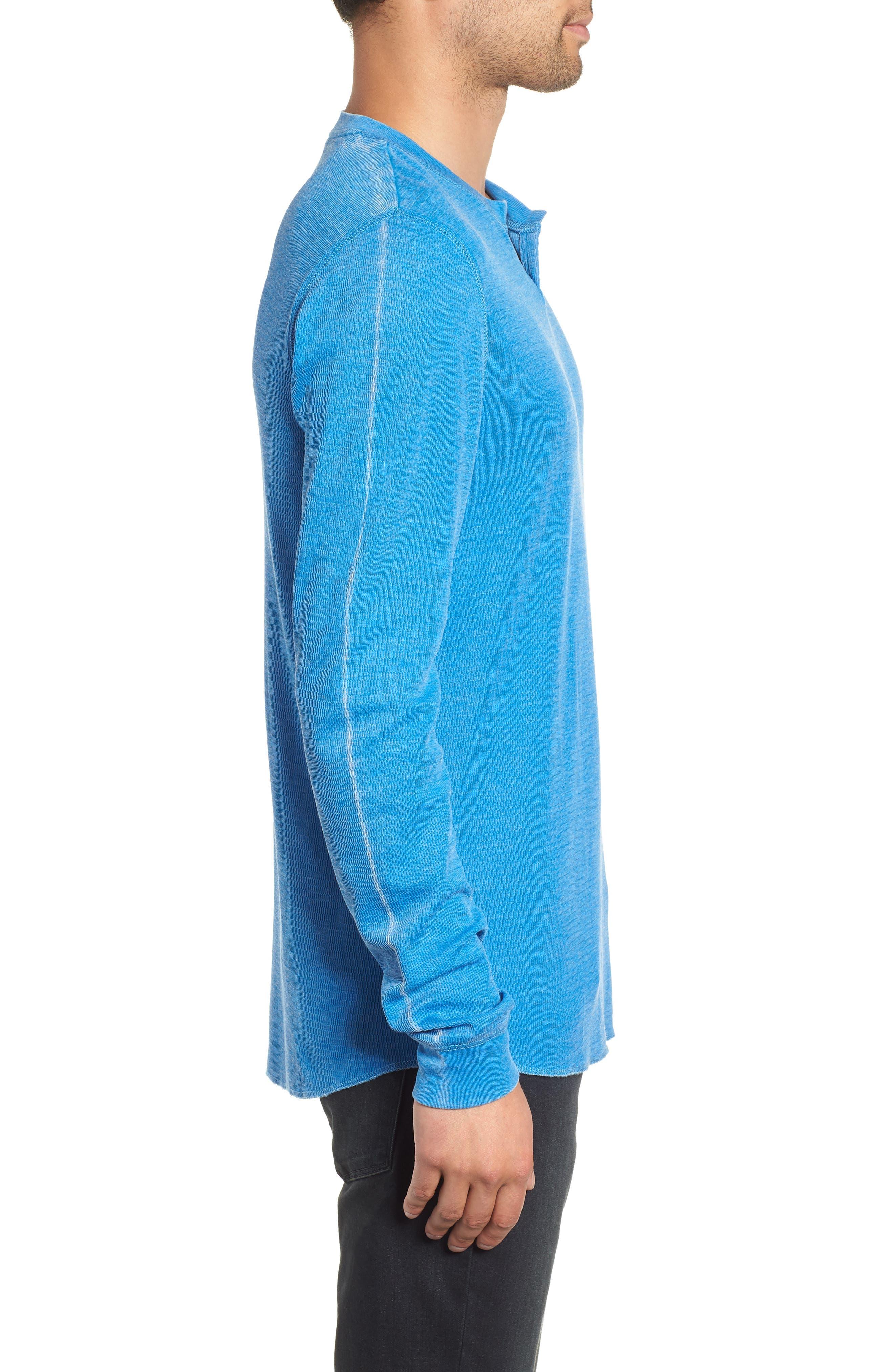 Notch Neck Thermal T-Shirt,                             Alternate thumbnail 19, color,