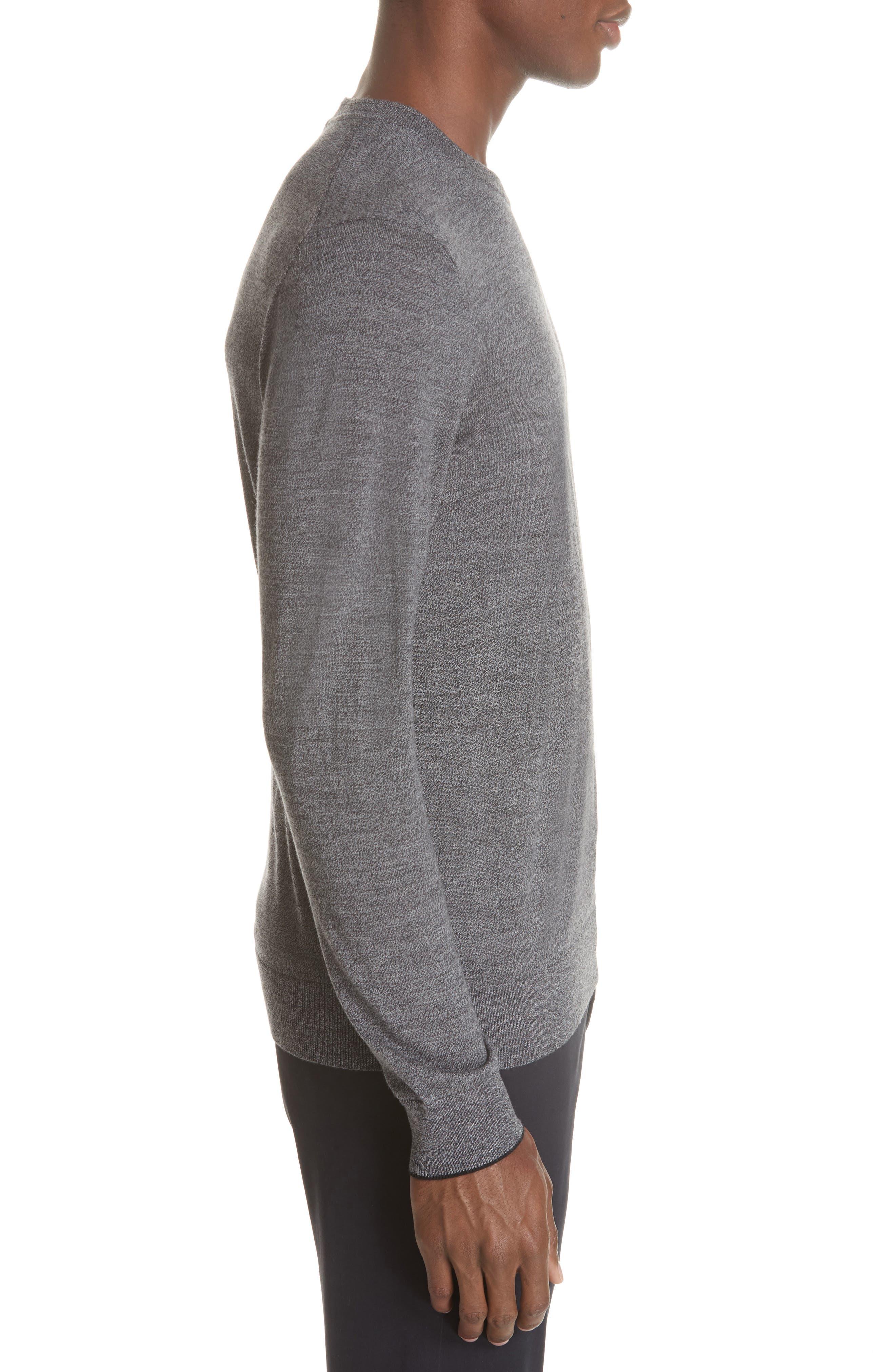 Merino Wool Sweater,                             Alternate thumbnail 3, color,                             028