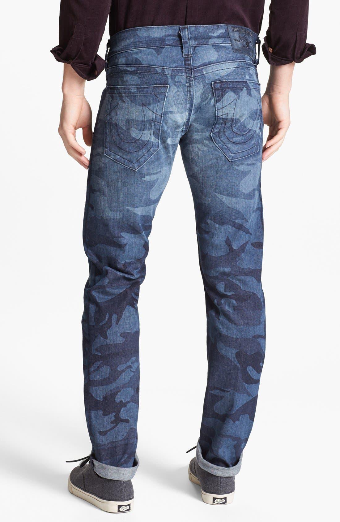 'Bobby' Straight Leg Selvedge Jeans, Main, color, 400