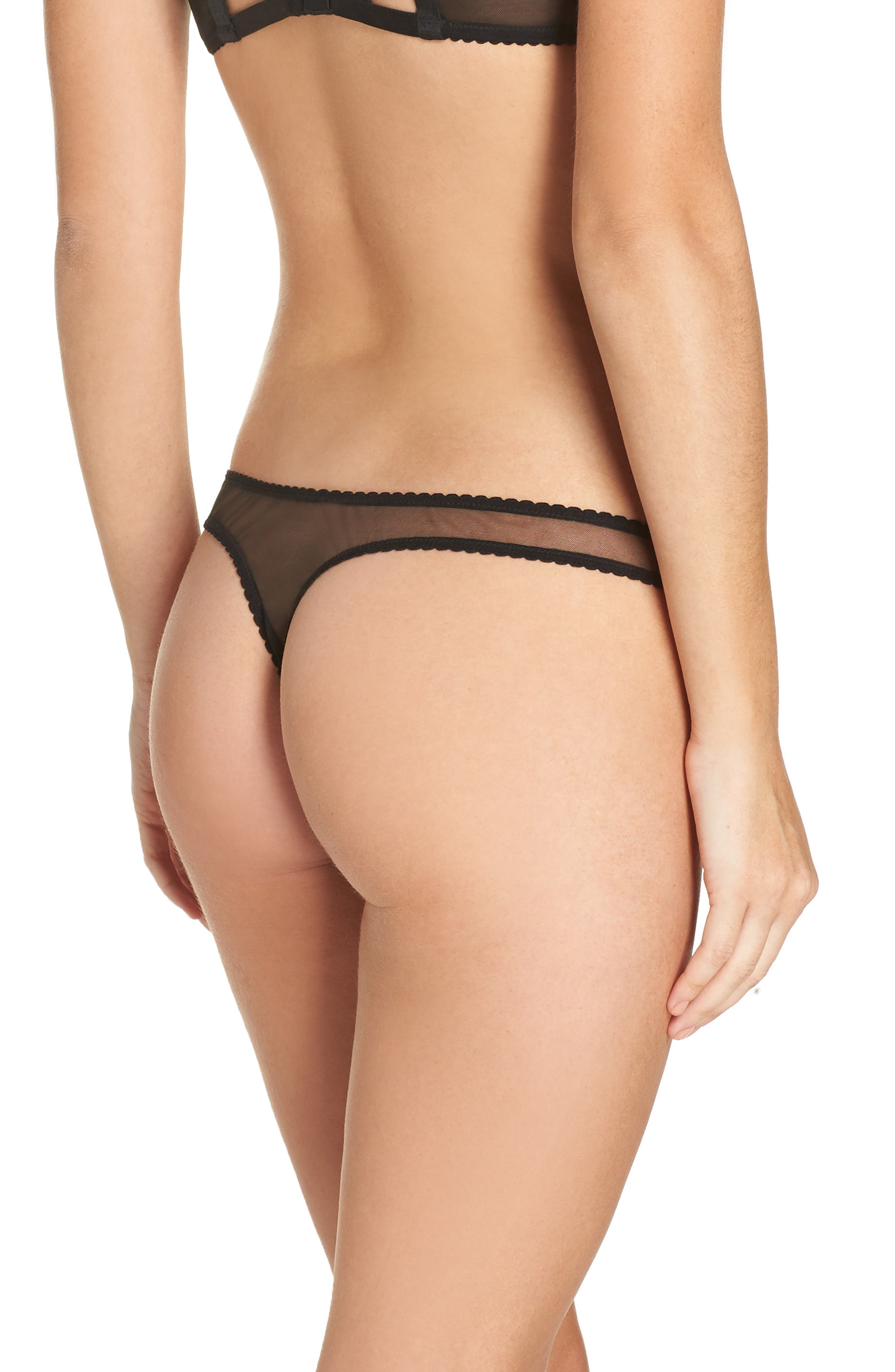 DITA VON TEESE,                             Bijoux G-String Bikini,                             Alternate thumbnail 2, color,                             003