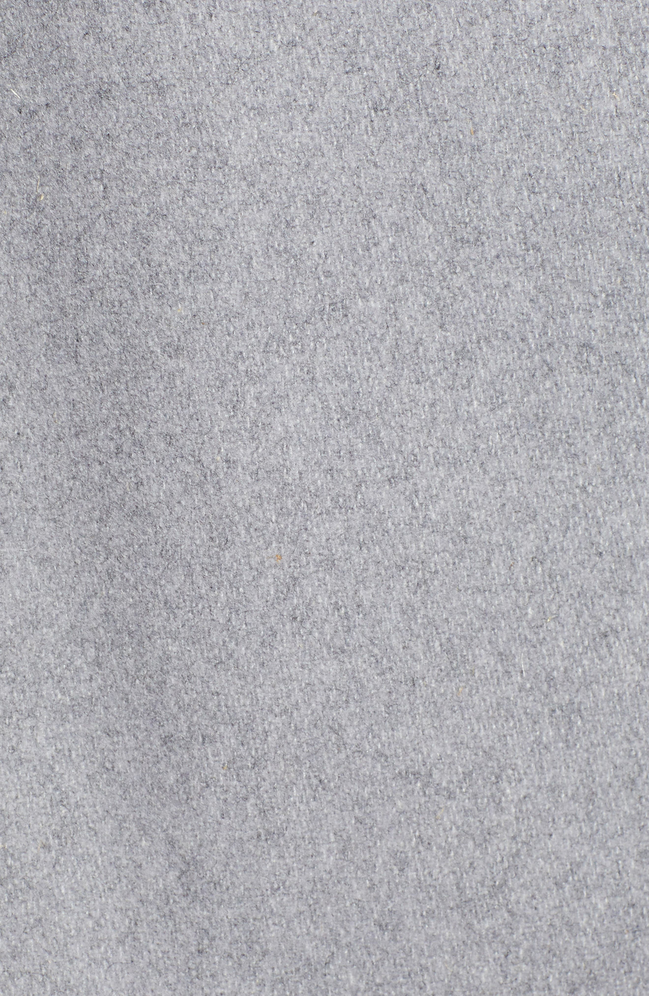 Ted Baker Londer Midi Wool Wrap Coat,                             Alternate thumbnail 7, color,                             GREY