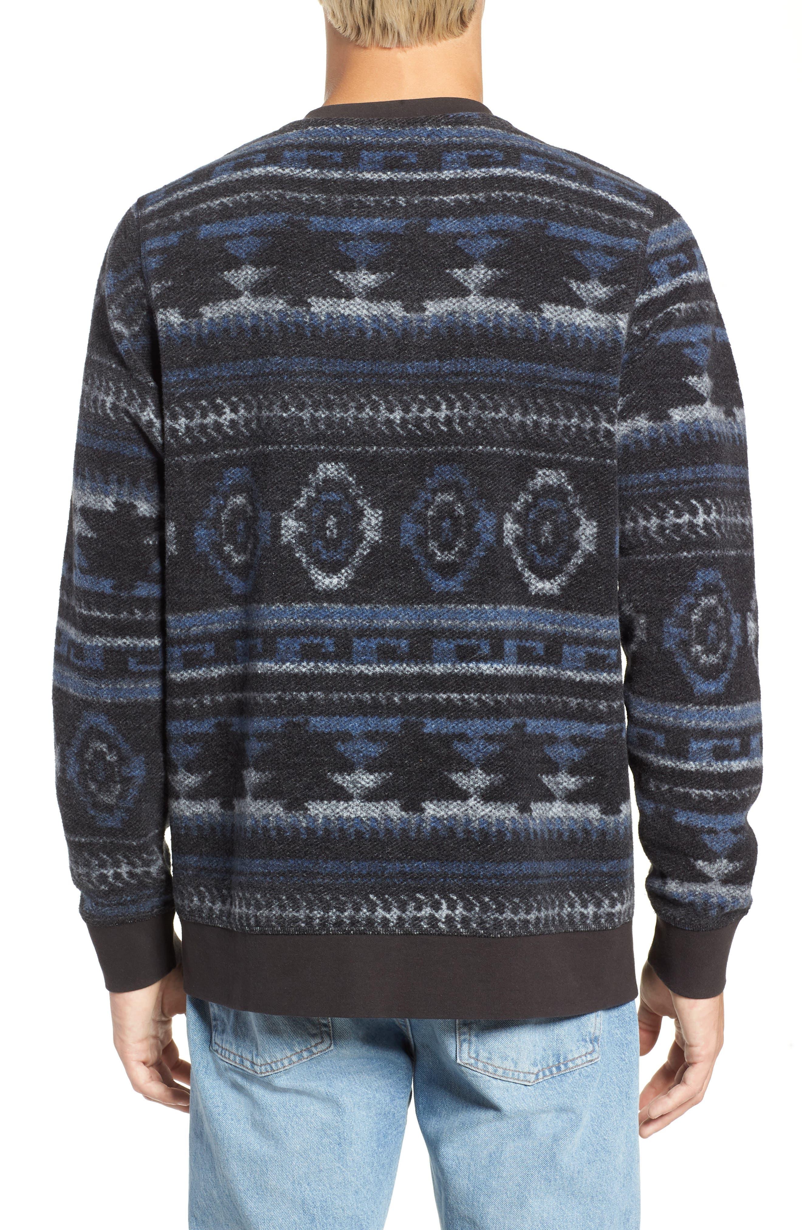 Fleece Sweatshirt,                             Alternate thumbnail 2, color,                             020