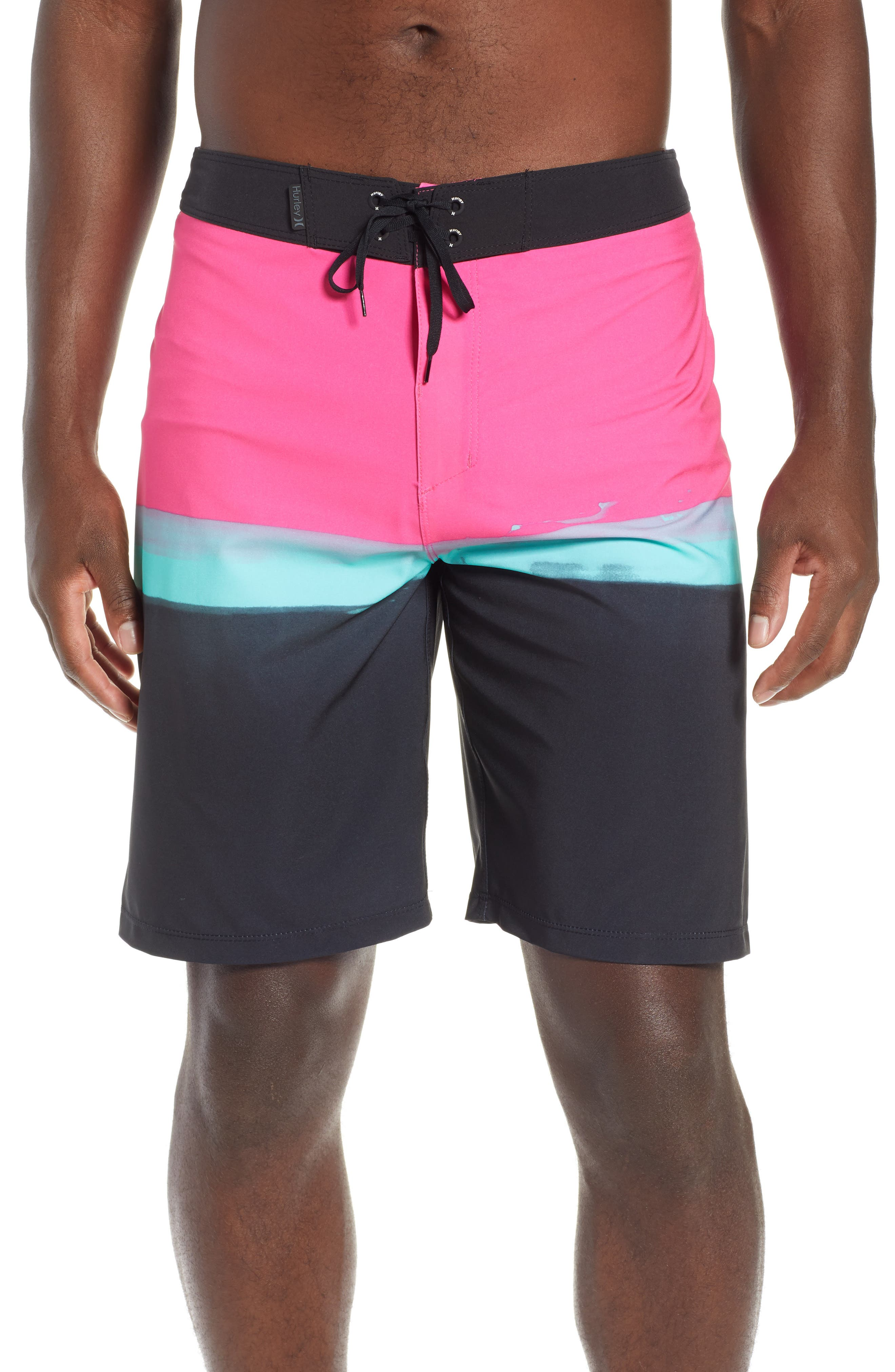 Hurley Phantom Pure Glass Board Shorts, Pink