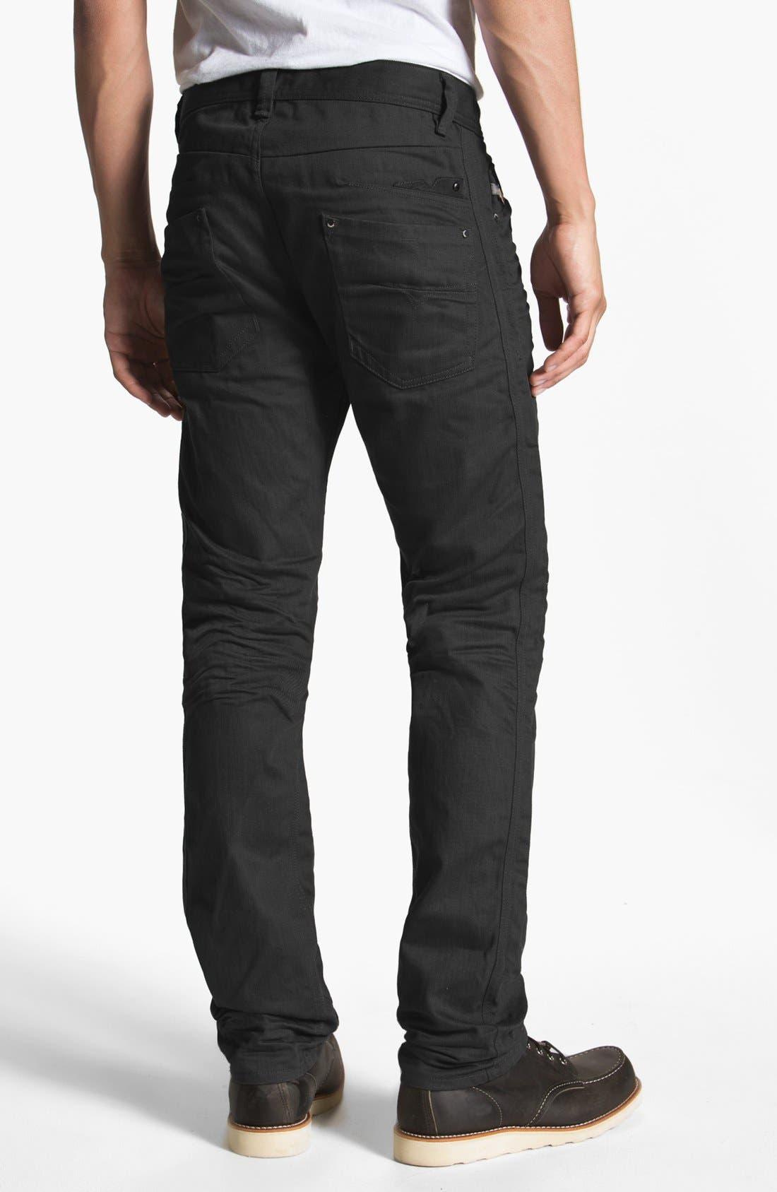'Darron' Slim Fit Jeans,                             Main thumbnail 1, color,                             001