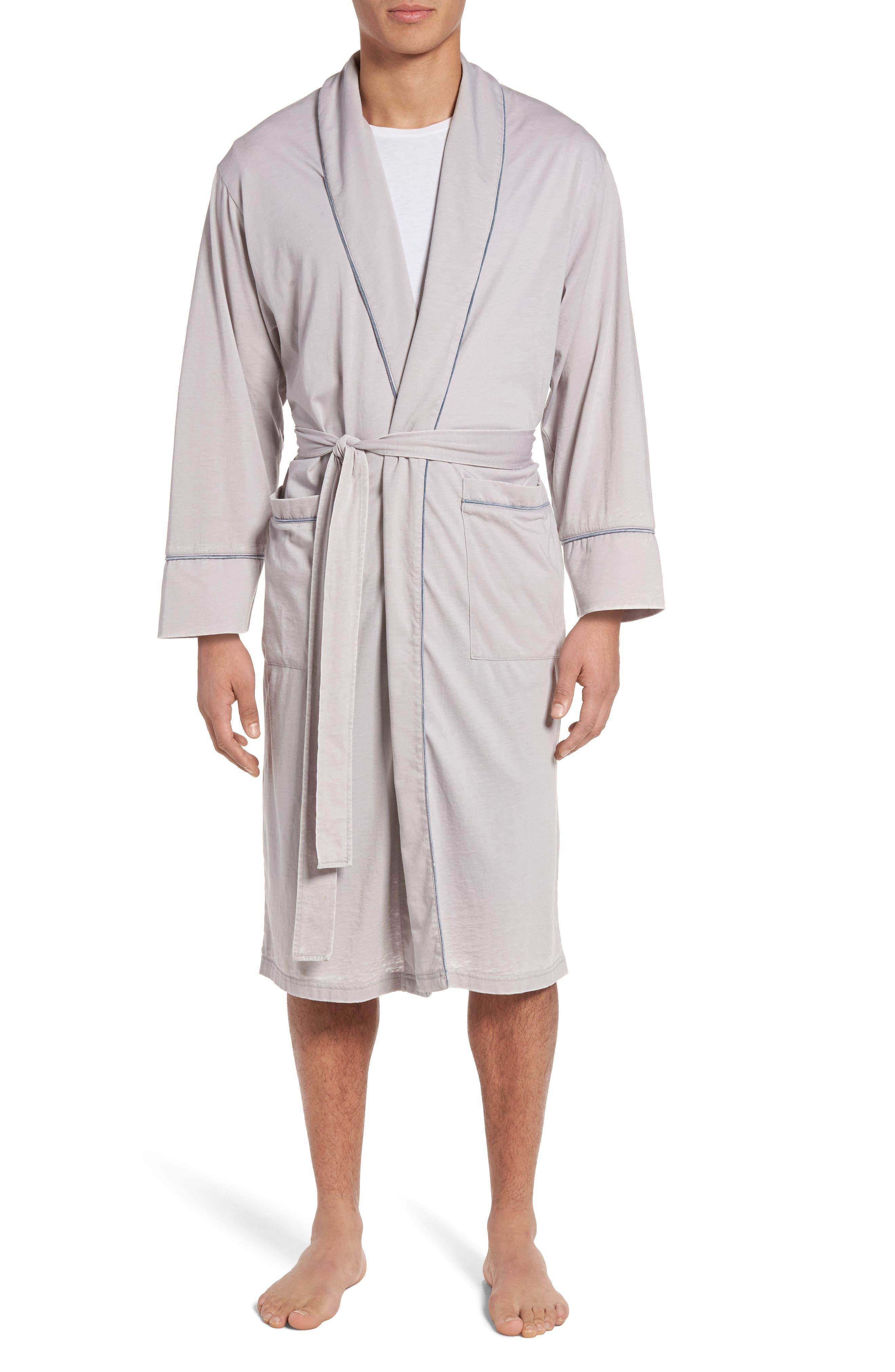 Burnout Cotton Blend Robe,                             Main thumbnail 2, color,