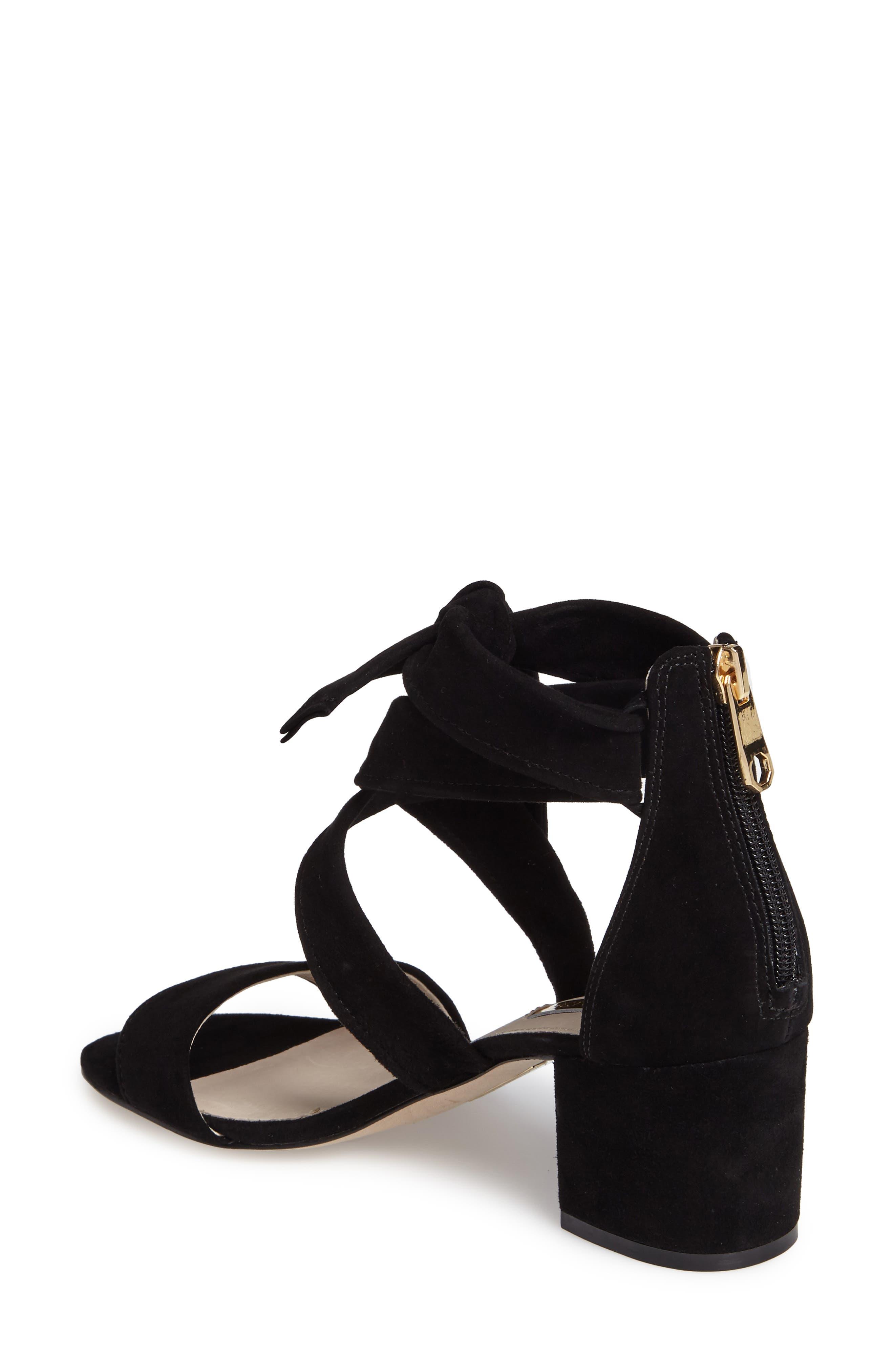 Gia Block Heel Sandal,                             Alternate thumbnail 2, color,                             001