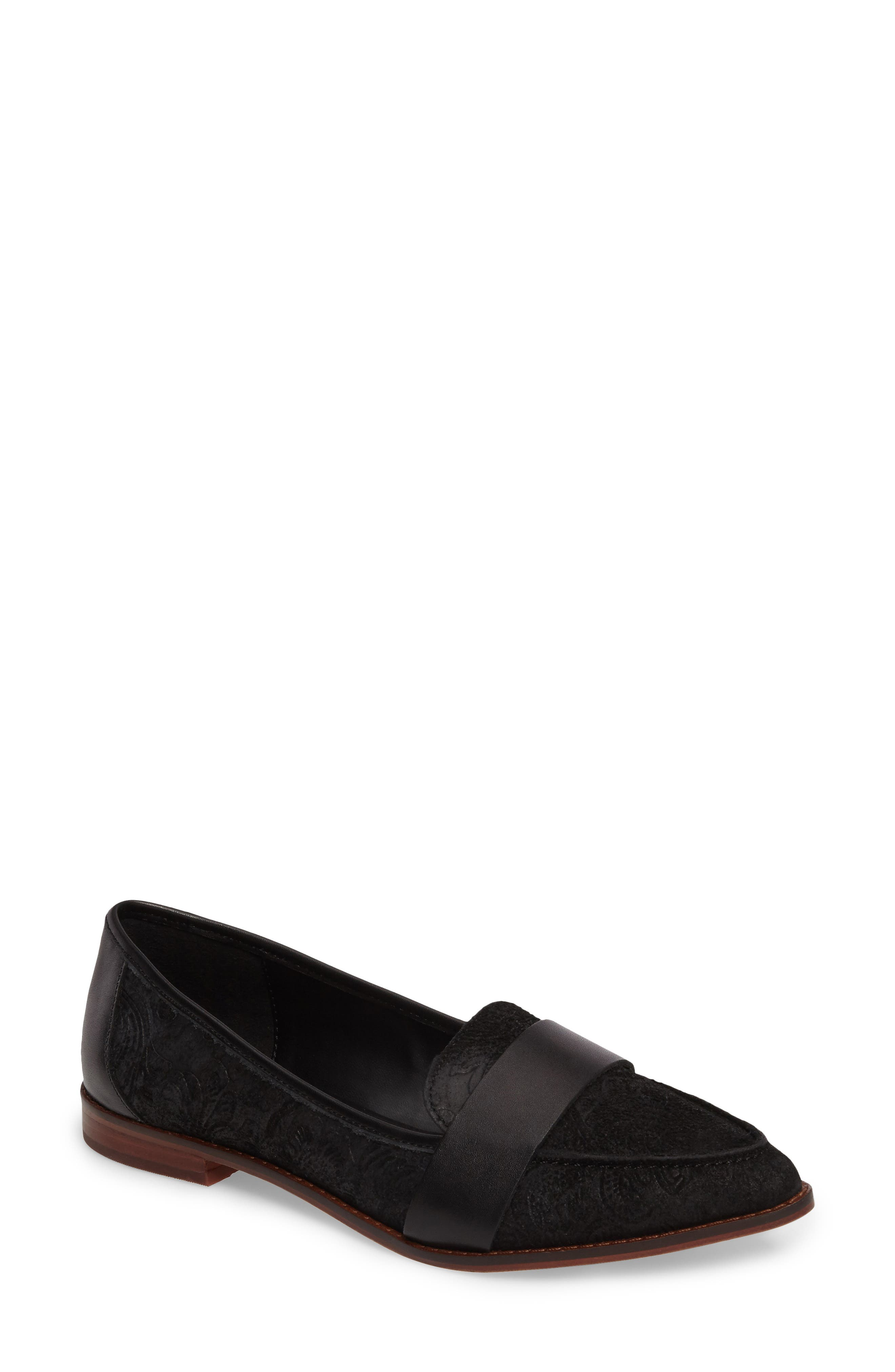 Edie Pointy Toe Loafer,                             Main thumbnail 3, color,