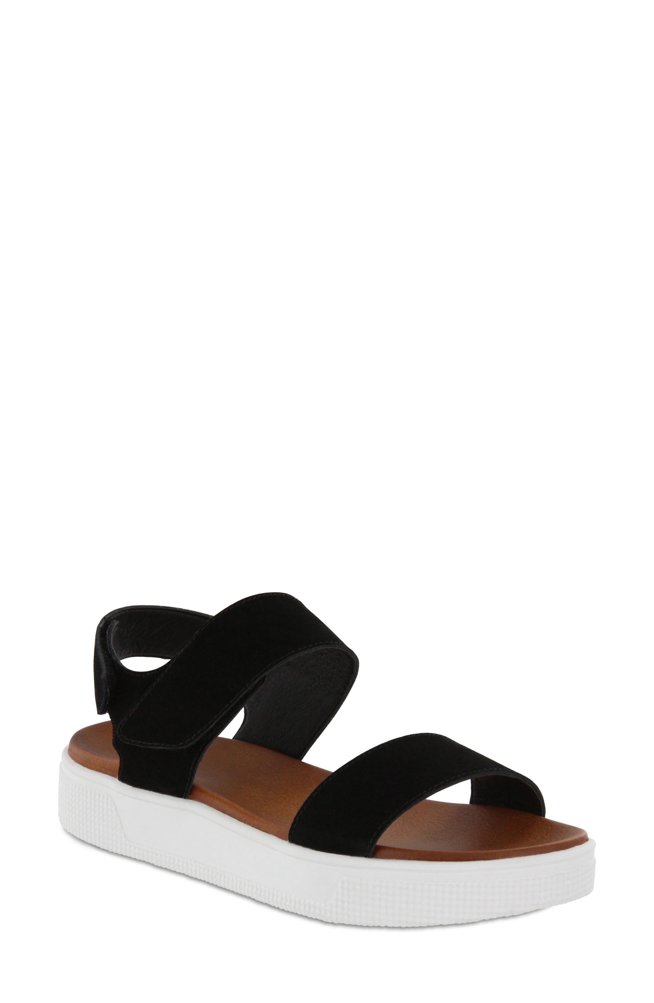 Troy Slingback Platform Sandal,                             Main thumbnail 1, color,                             001