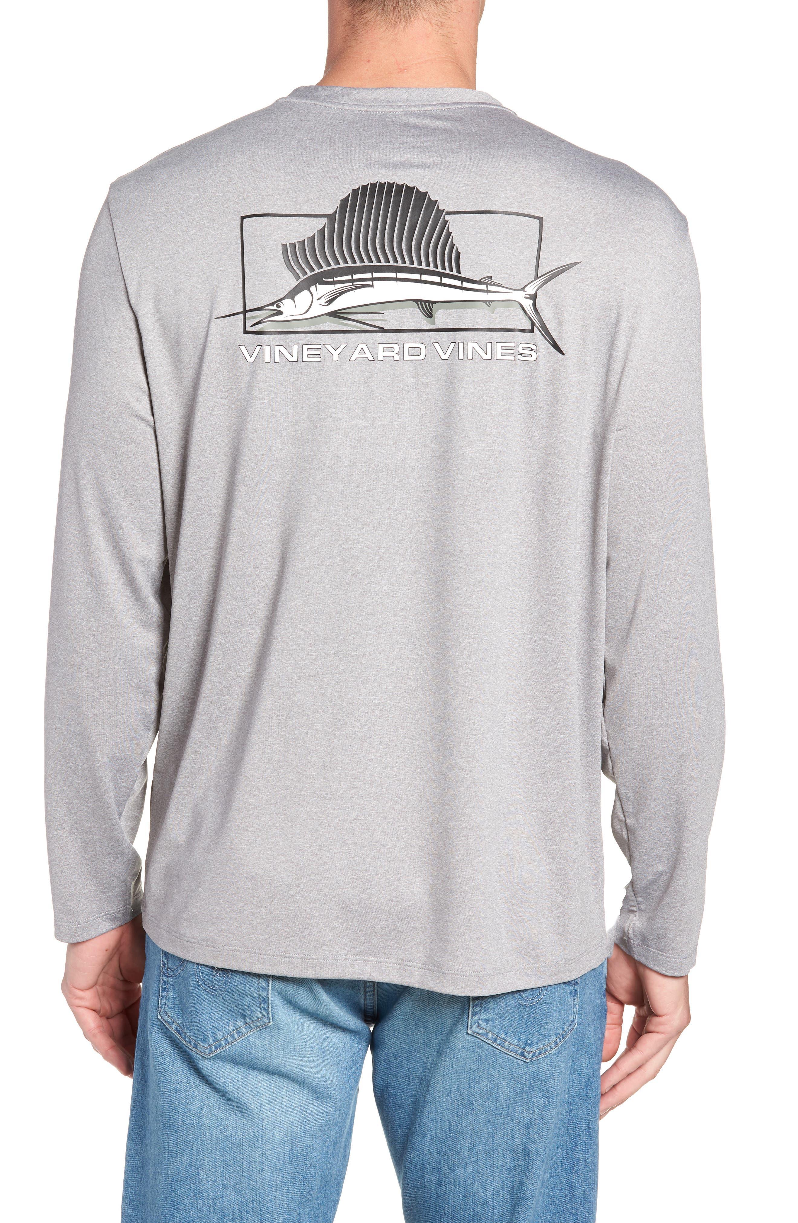 Sailfish Logo Performance T-Shirt,                             Alternate thumbnail 2, color,                             039
