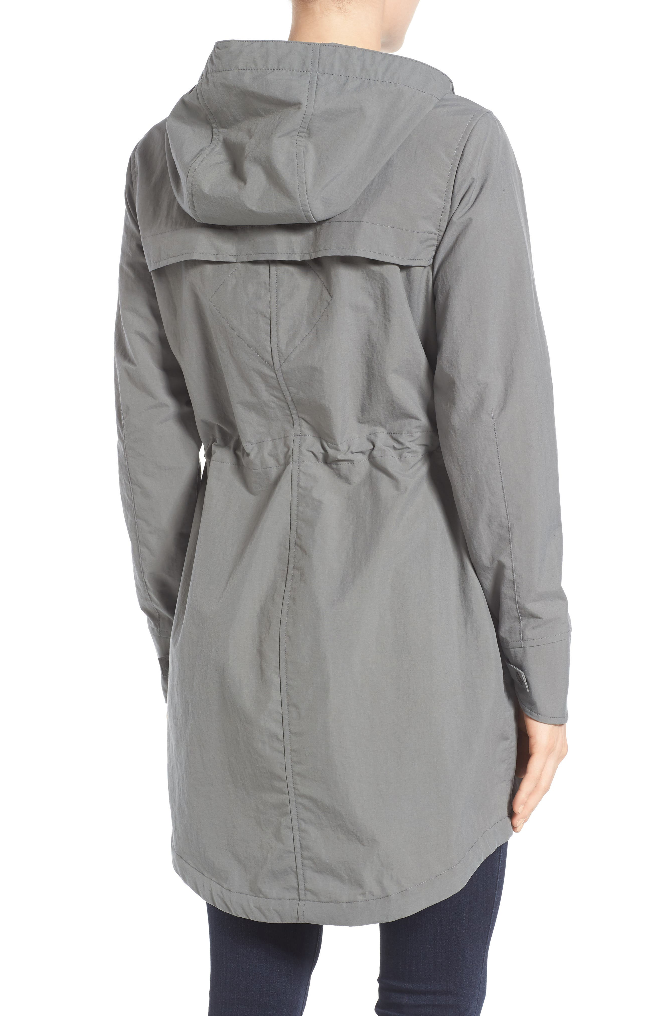 Brossard Hooded Drop Tail Jacket,                             Alternate thumbnail 7, color,