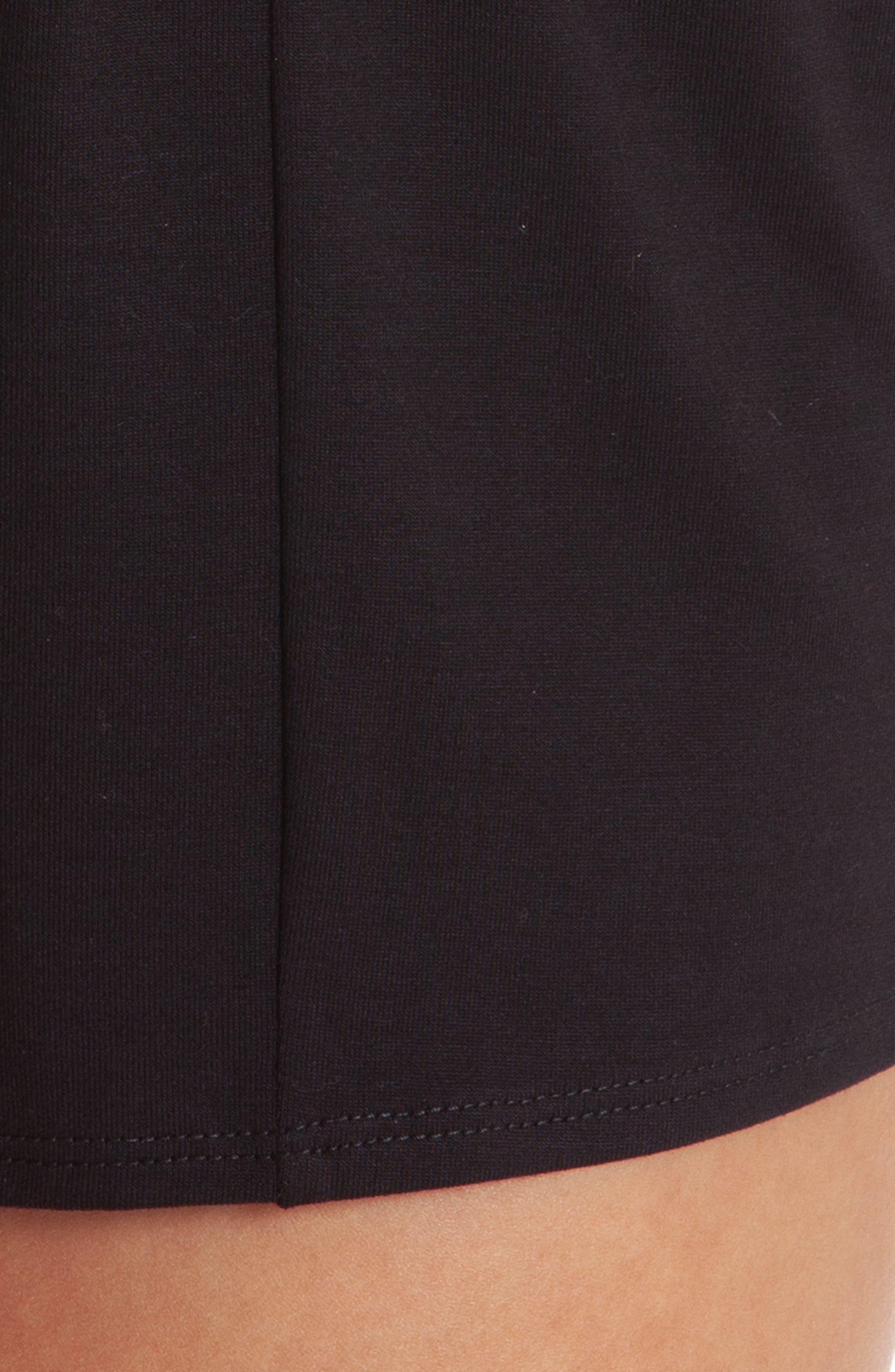 Short Pajamas,                             Alternate thumbnail 4, color,                             BLACK