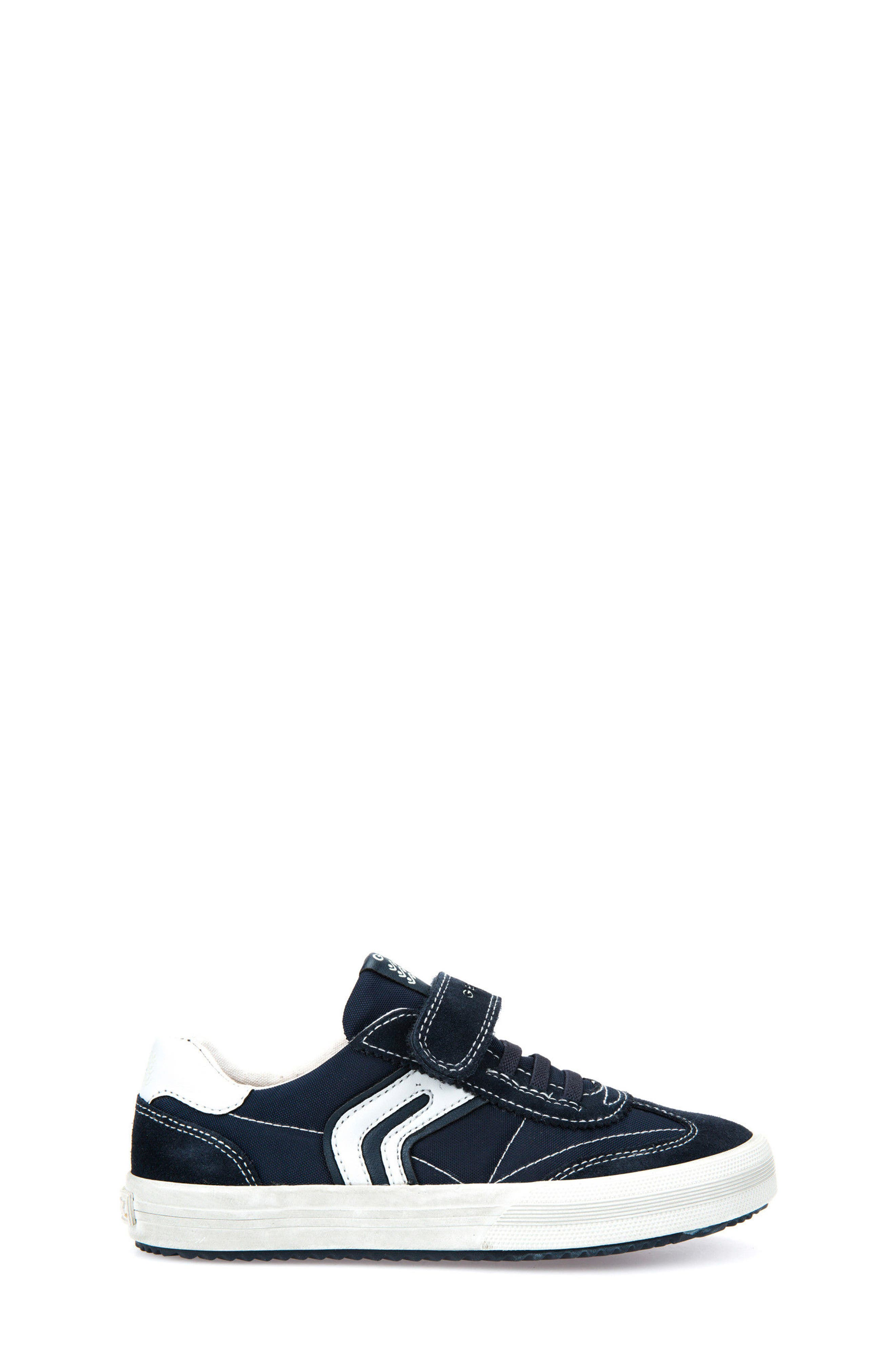 Alonisso Low Top Sneaker,                             Alternate thumbnail 3, color,                             NAVY/ GREY
