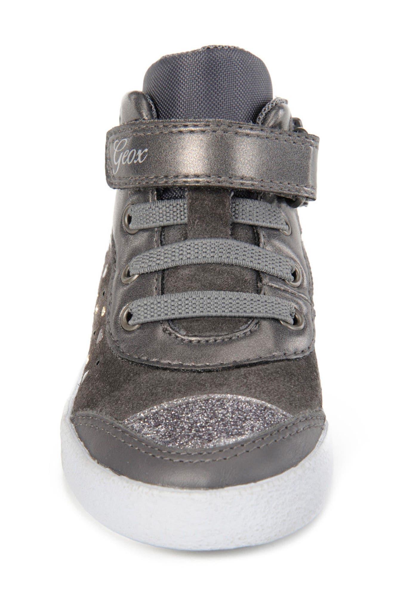 Kiwi Girl Studded High Top Sneaker,                             Alternate thumbnail 11, color,