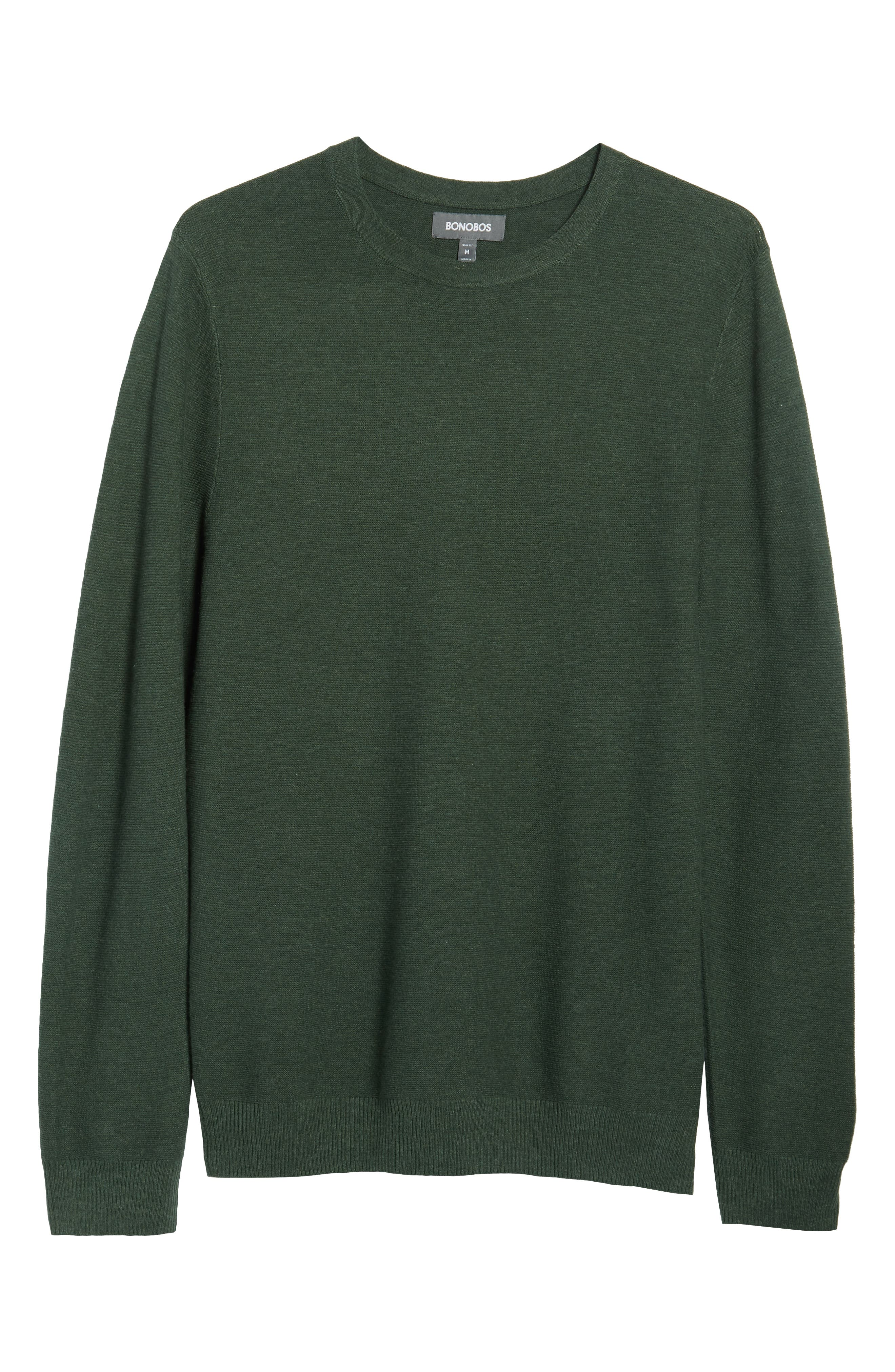 Slim Fit Crewneck Sweater,                             Alternate thumbnail 6, color,                             300