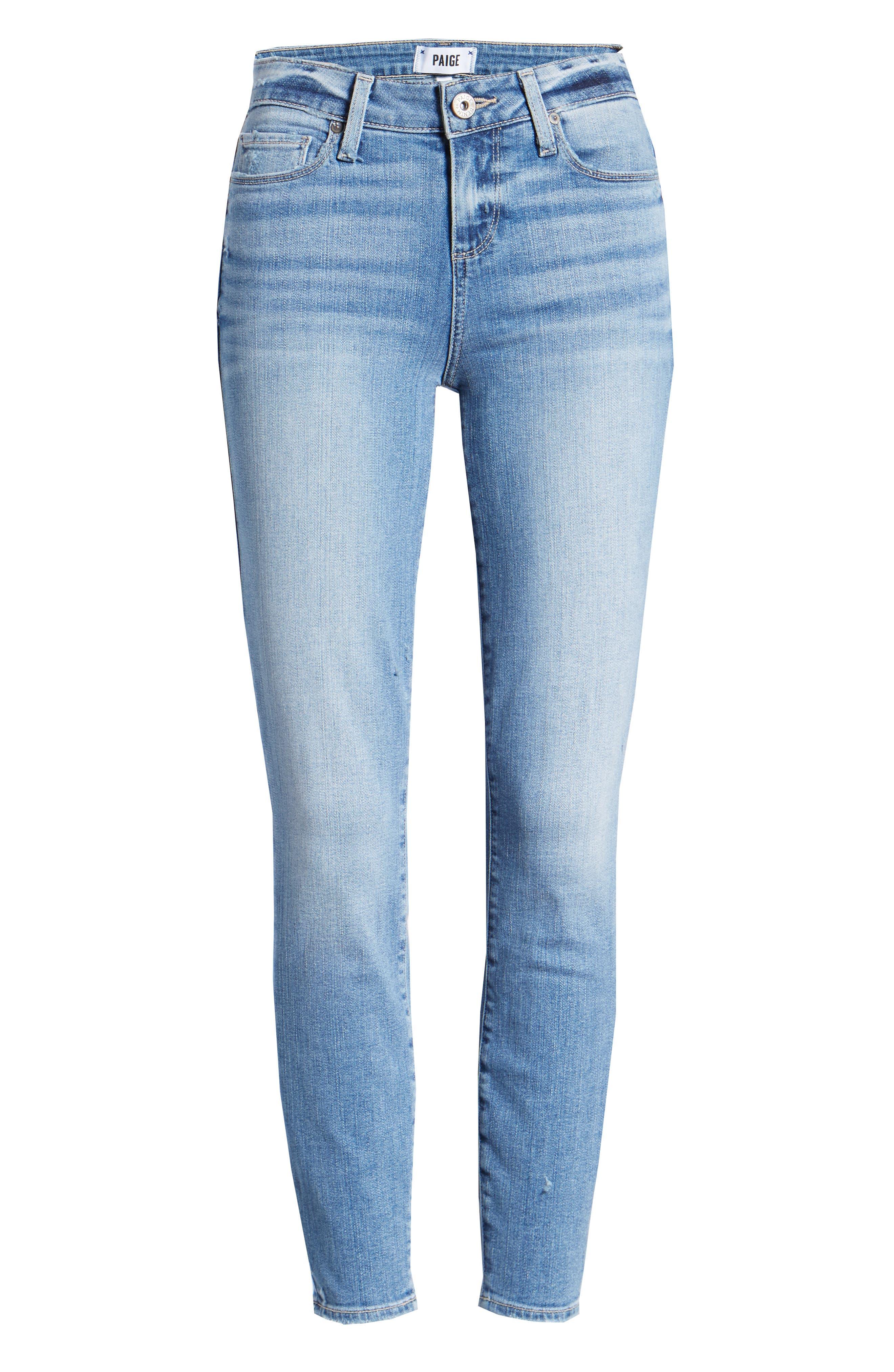 Verdugo Crop Skinny Jeans,                             Alternate thumbnail 7, color,                             SOTO