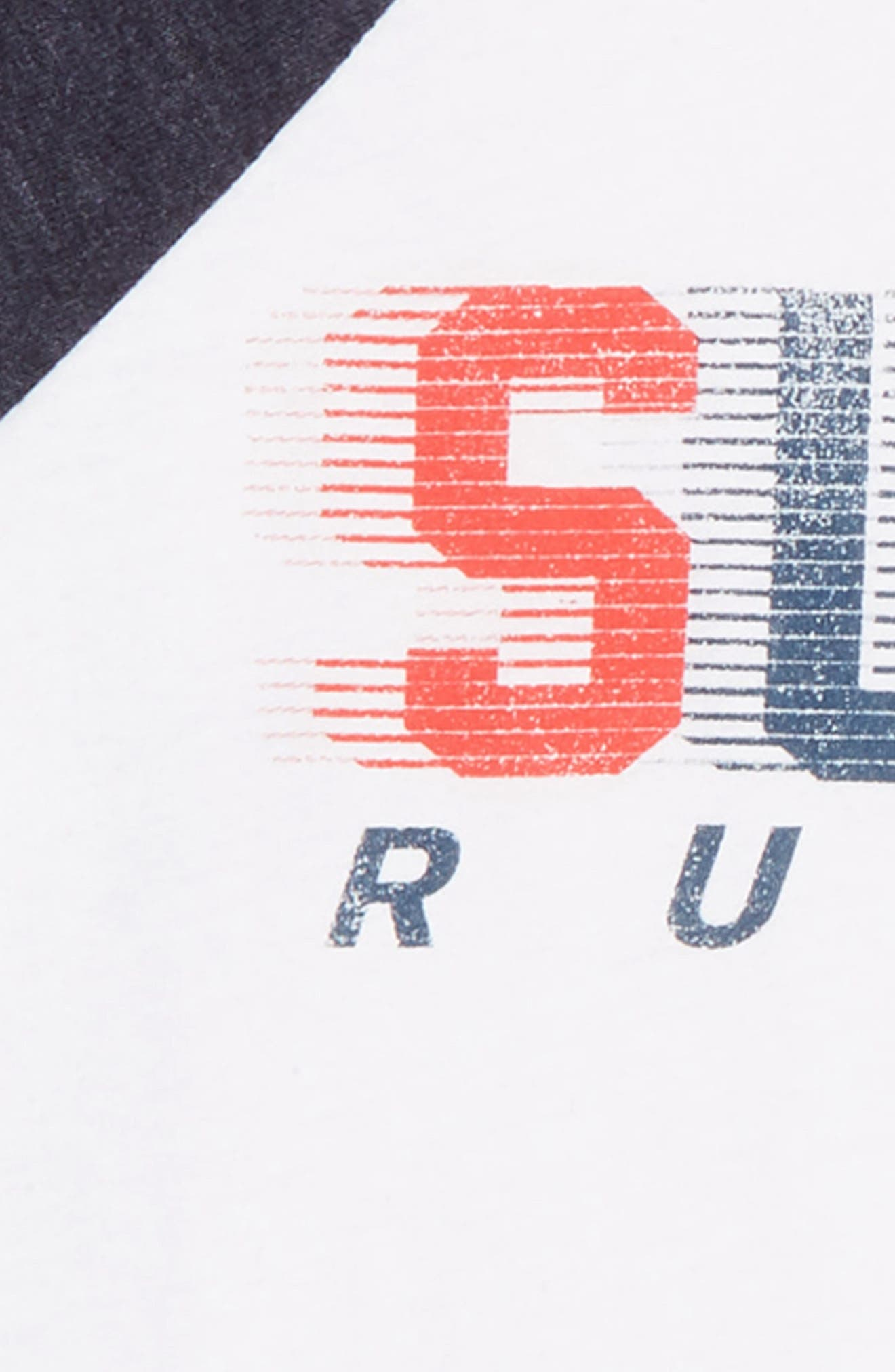 CHASER,                             Sugar Rush Graphic T-Shirt,                             Alternate thumbnail 2, color,                             WHITE / AVALON