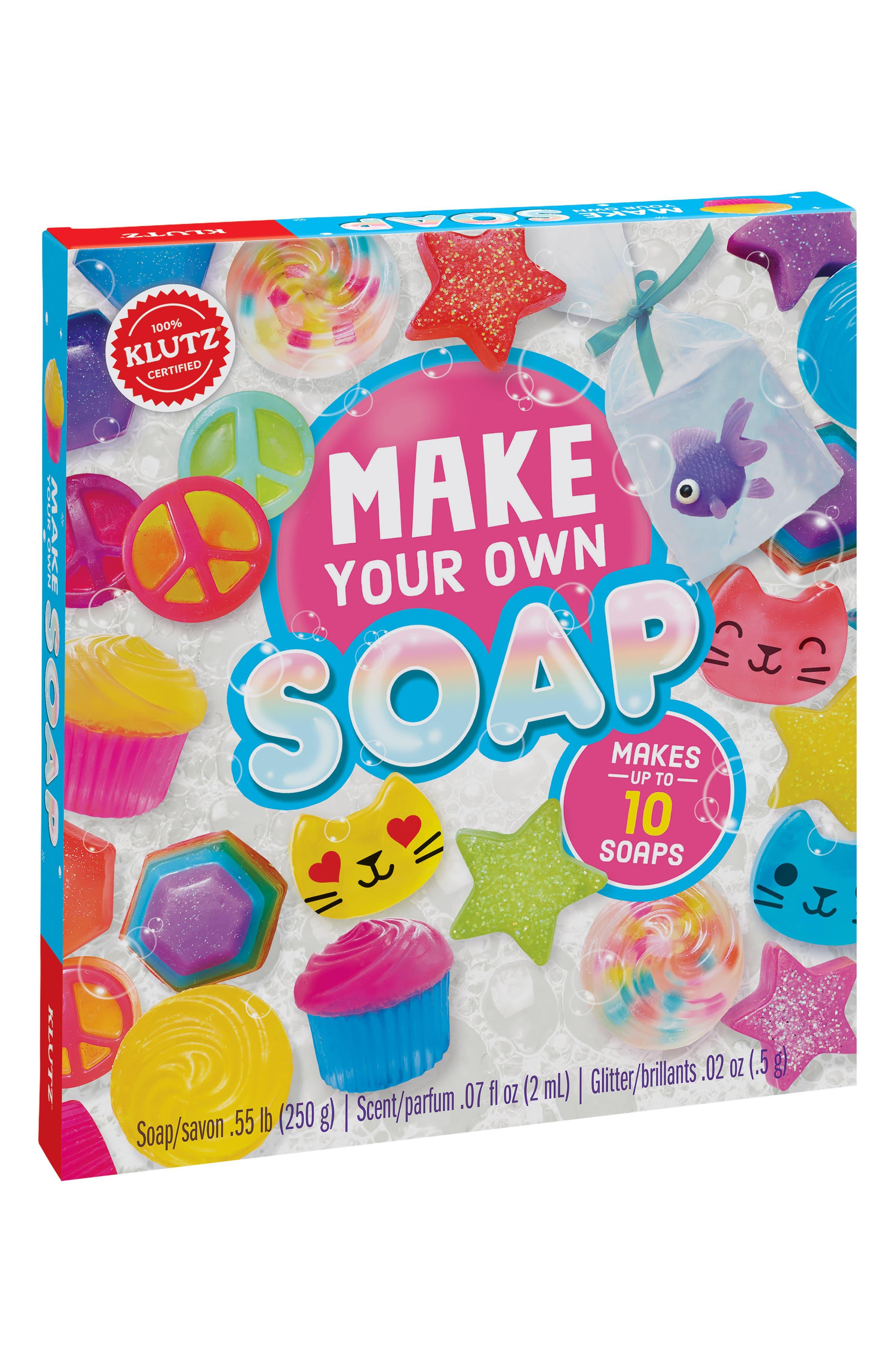 Make Your Own Soap Kit,                             Main thumbnail 1, color,                             650