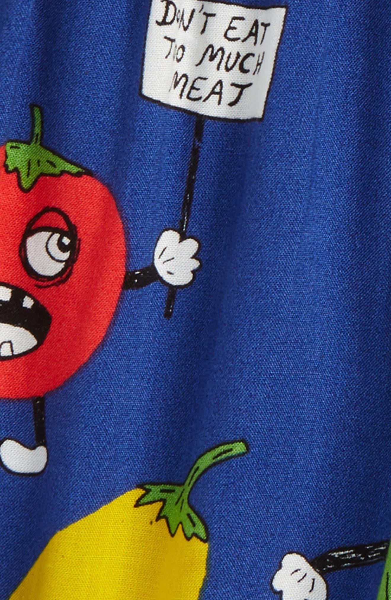 Veggie Woven Shorts,                             Alternate thumbnail 3, color,                             400