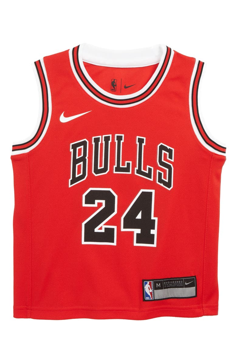 b677786d4 Nike Chicago Bulls Lauri Markkanen Basketball Jersey (Little Boys ...
