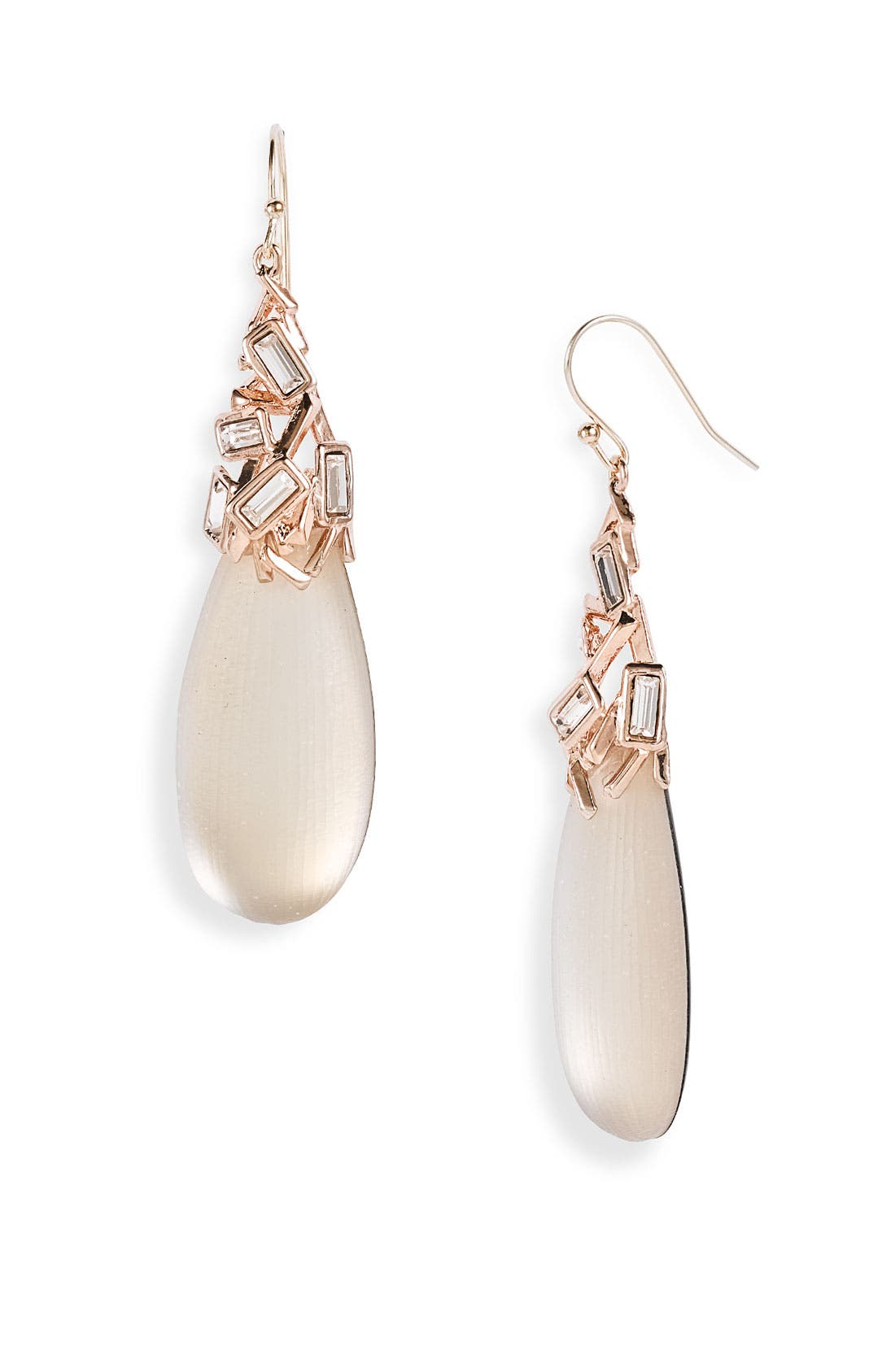 ALEXIS BITTAR Crystal & Lucite<sup>®</sup> Drop Earrings, Main, color, 250