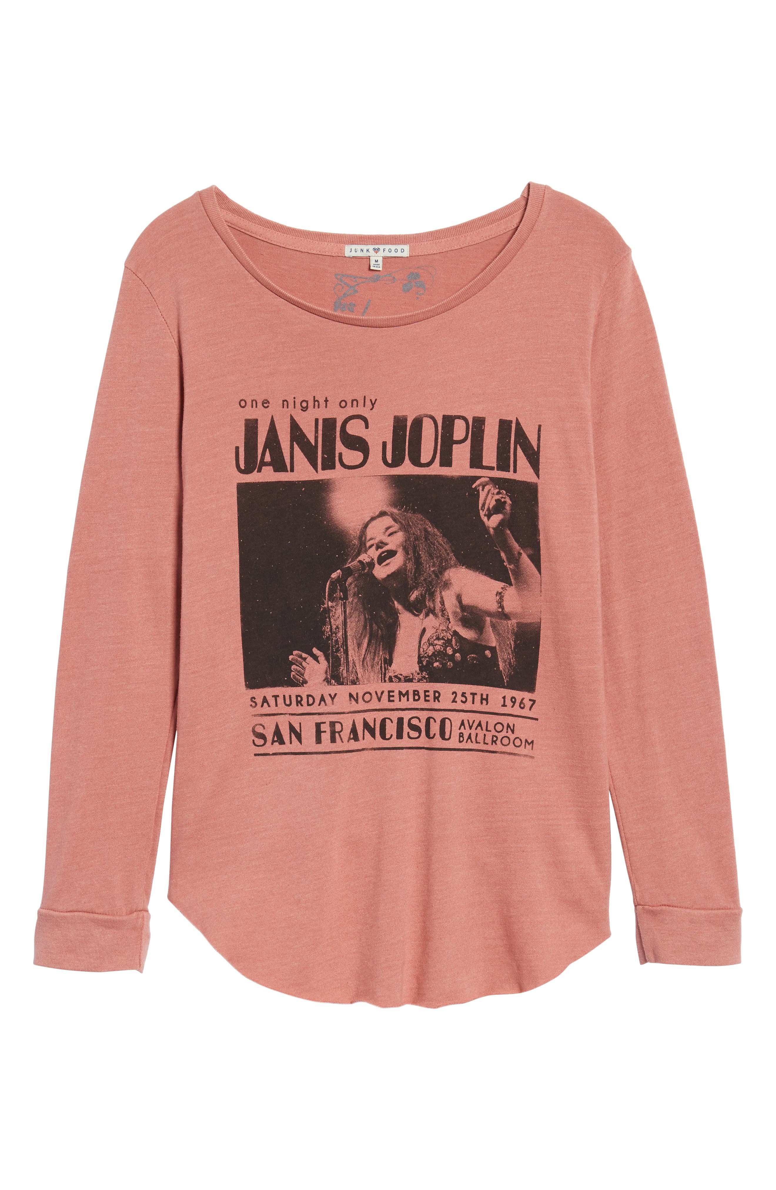 Janis Joplin One Night Only Pullover,                             Alternate thumbnail 6, color,