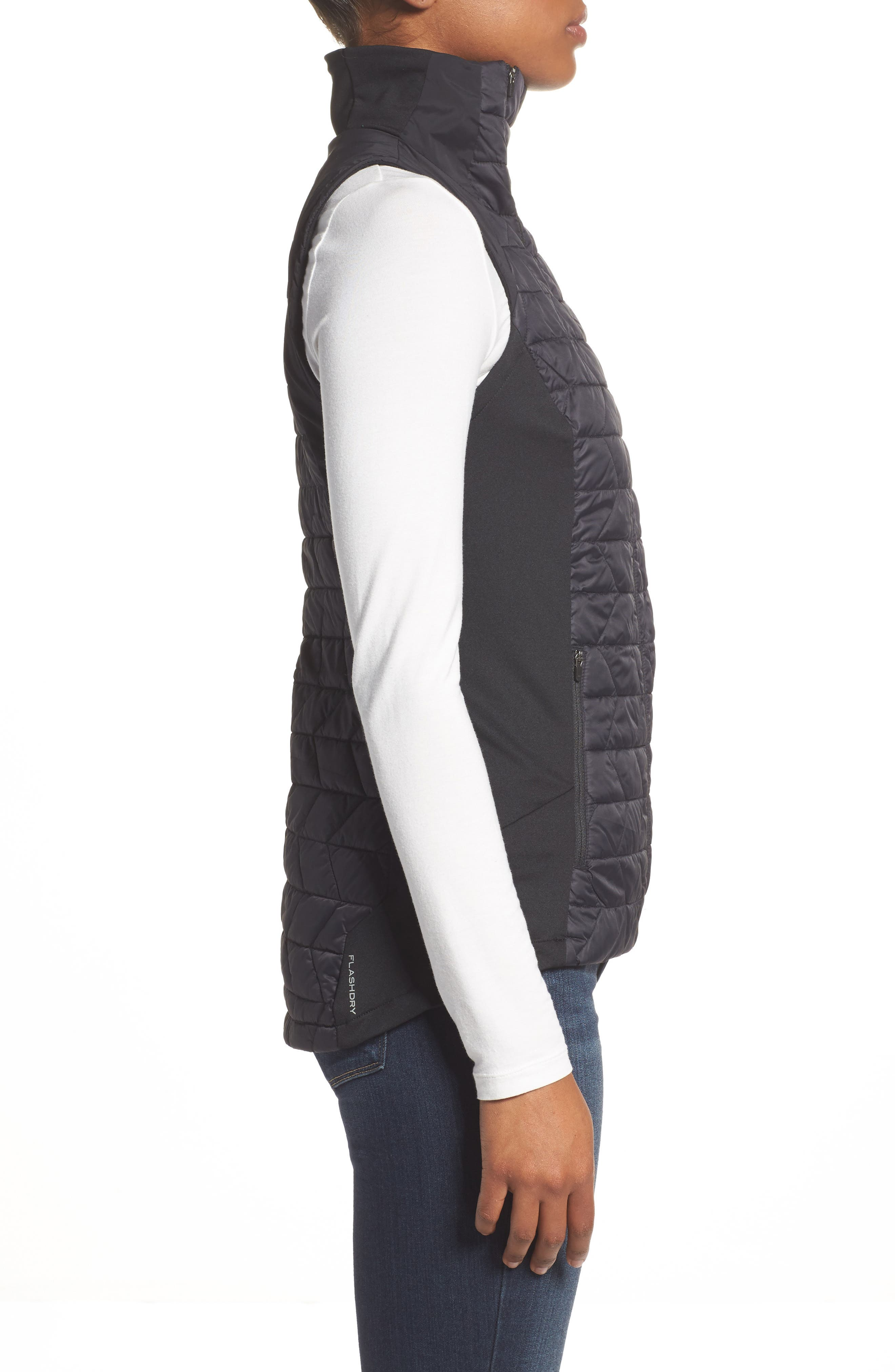 ThermoBall<sup>™</sup> Slim Fit Vest,                             Alternate thumbnail 3, color,                             001