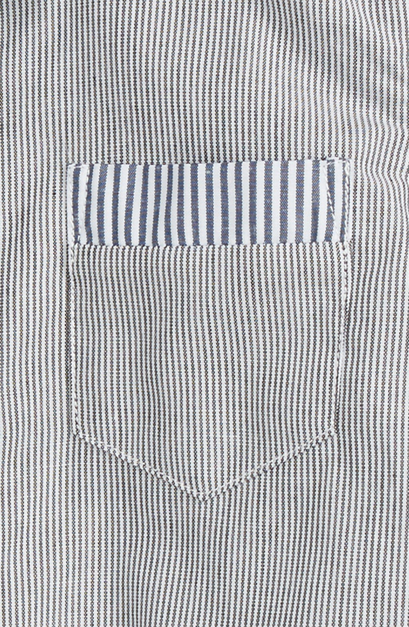 Dress Shirt Bodysuit,                             Alternate thumbnail 2, color,                             140