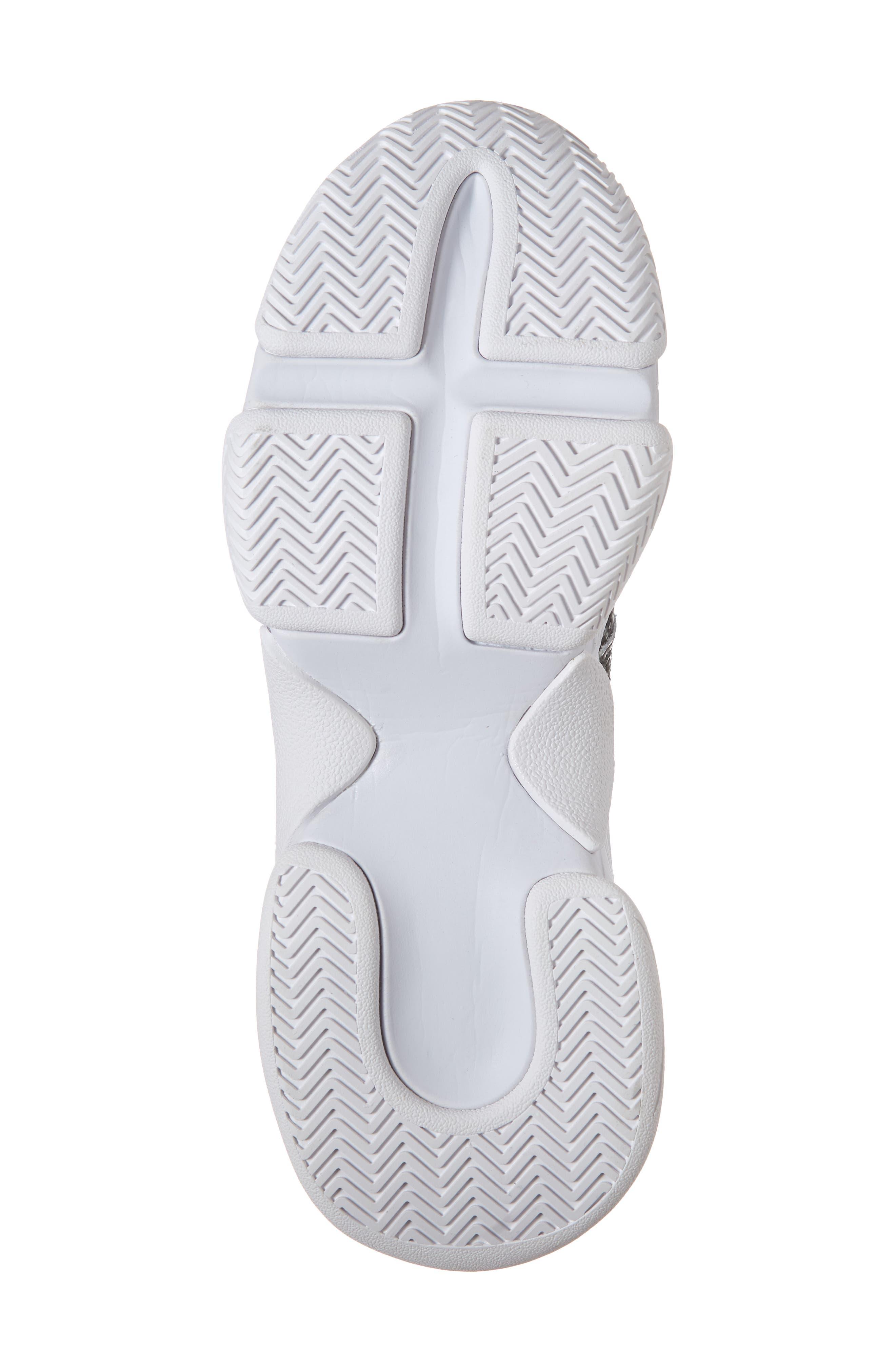 CTRL-DEL Sneaker,                             Alternate thumbnail 6, color,                             GREY BLACK SNAKE