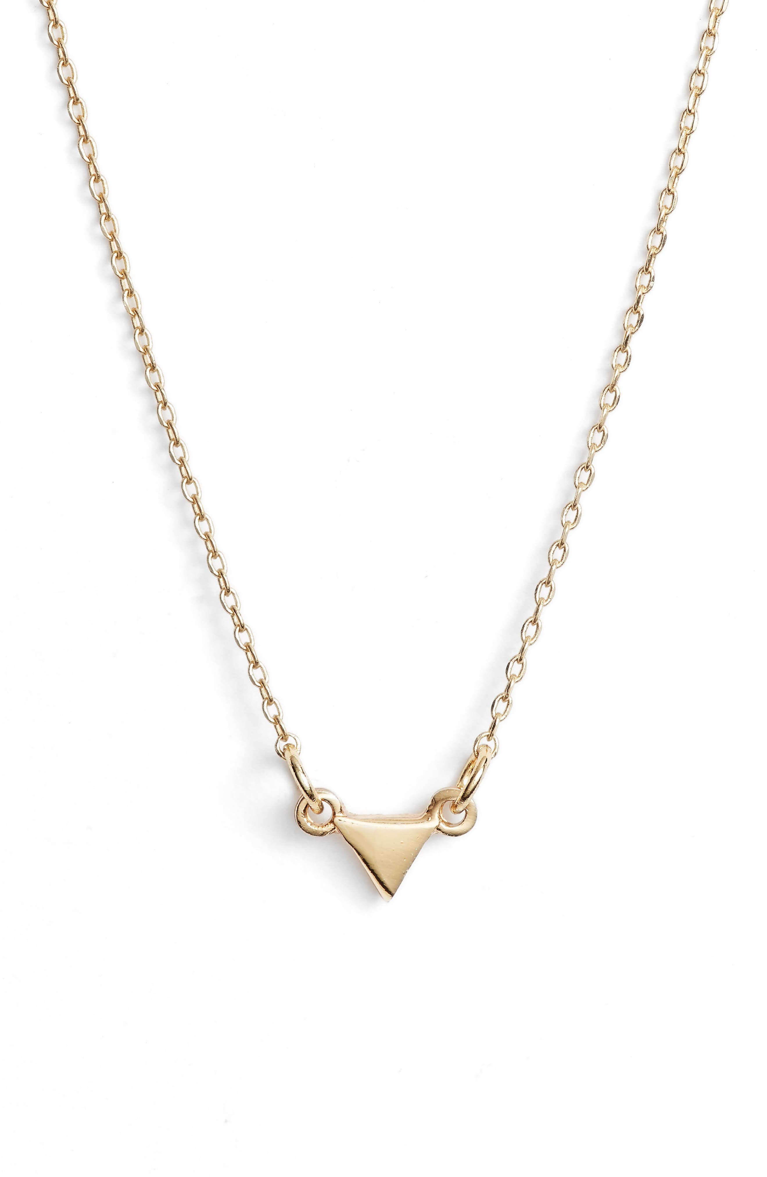 Uncommon James Don't Blink Necklace, Main, color, GOLD