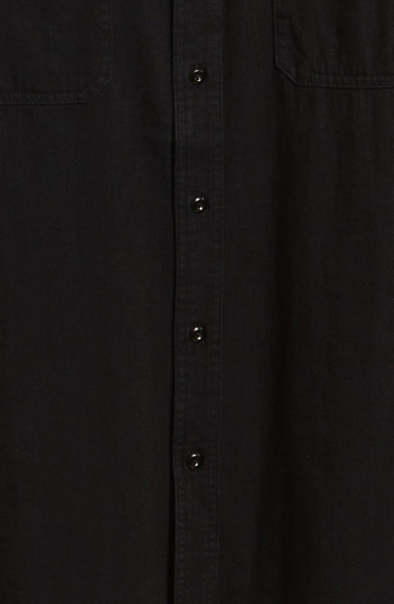 AG,                             Benning Slim Fit Utility Shirt,                             Alternate thumbnail 6, color,                             016