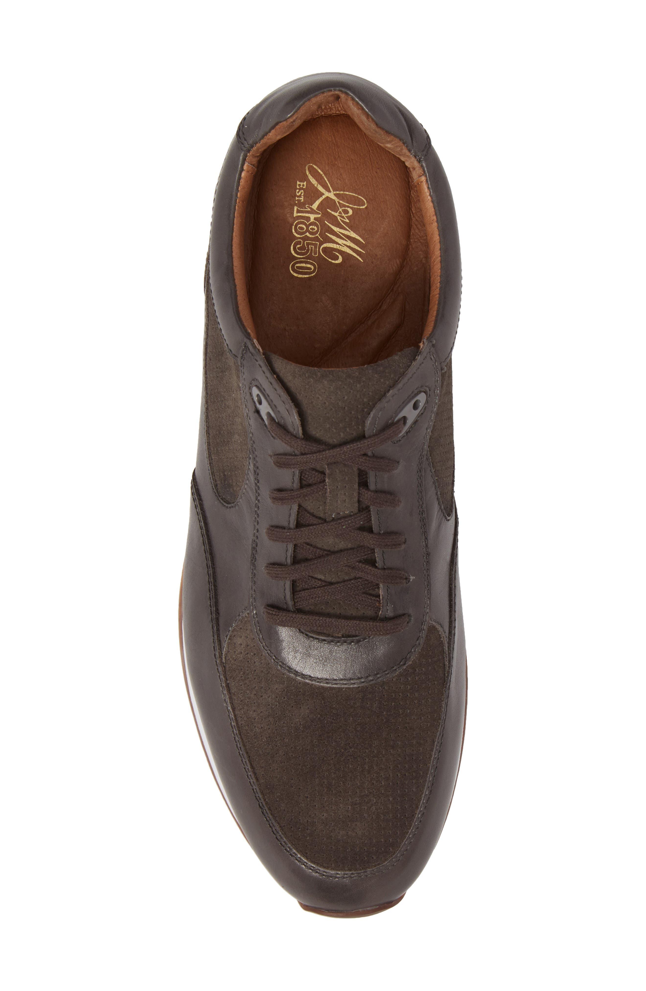 Malek Low Top Sneaker,                             Alternate thumbnail 5, color,                             020