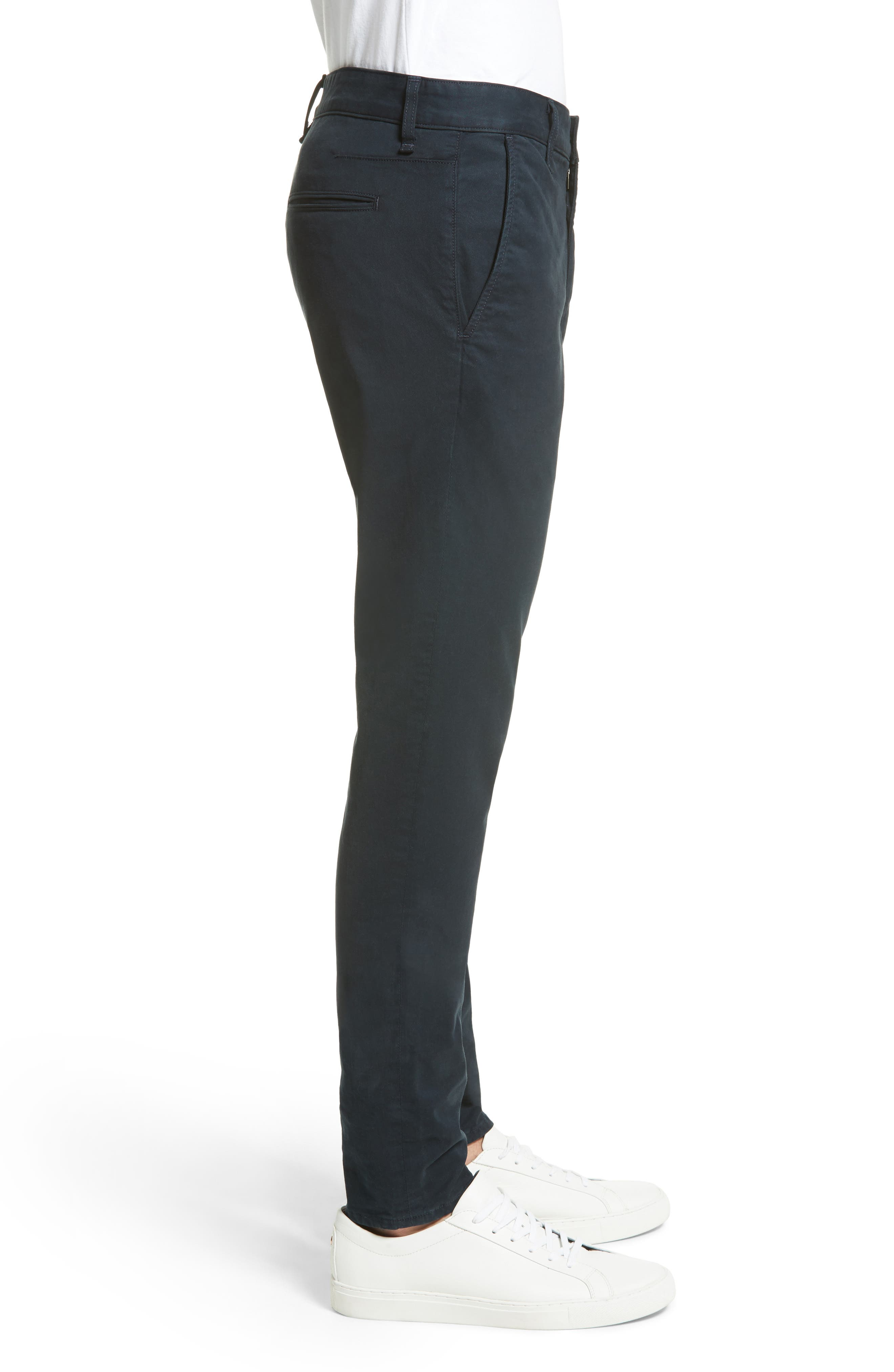 Fit 2 Slim Fit Chinos,                             Alternate thumbnail 3, color,                             NAVY