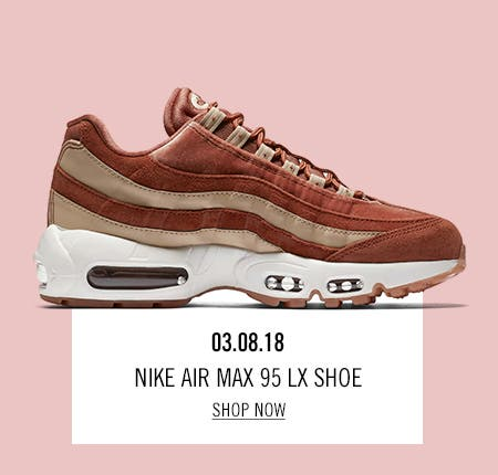 Nordstrom x Nike: new and hot Nike Air Max 95 LX Shoe.