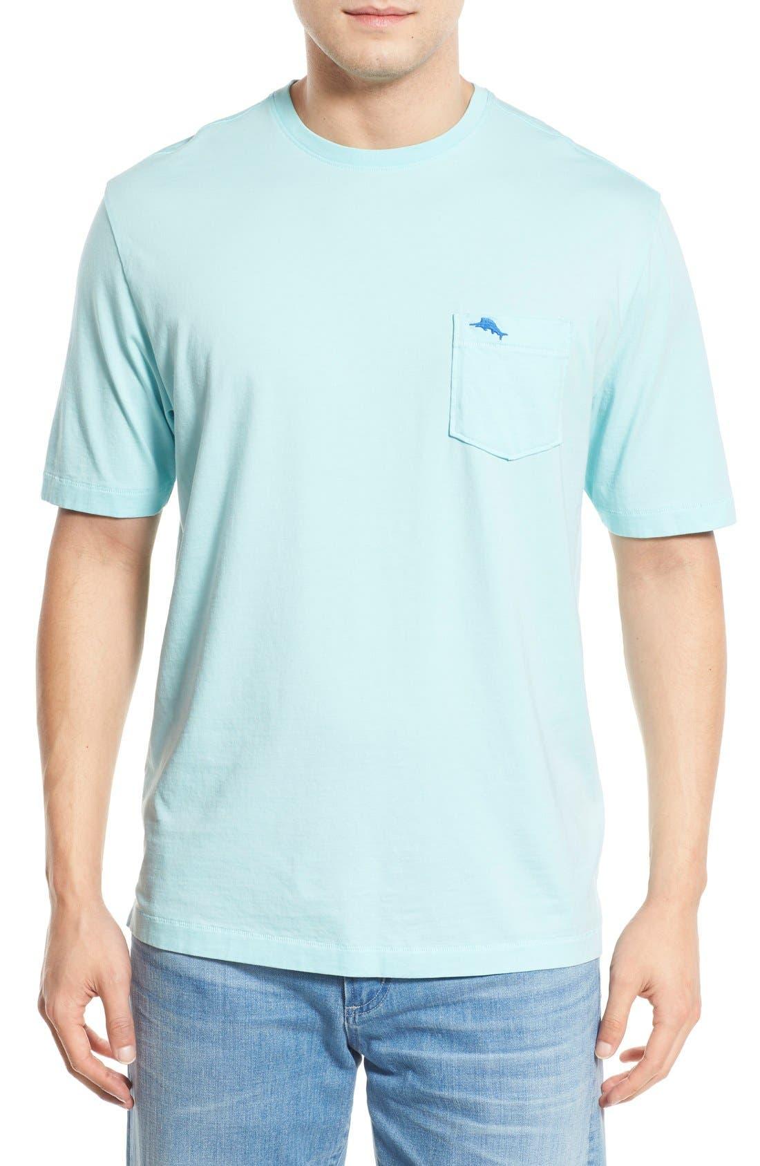 New Bali Sky Pima Cotton Pocket T-Shirt,                             Main thumbnail 33, color,