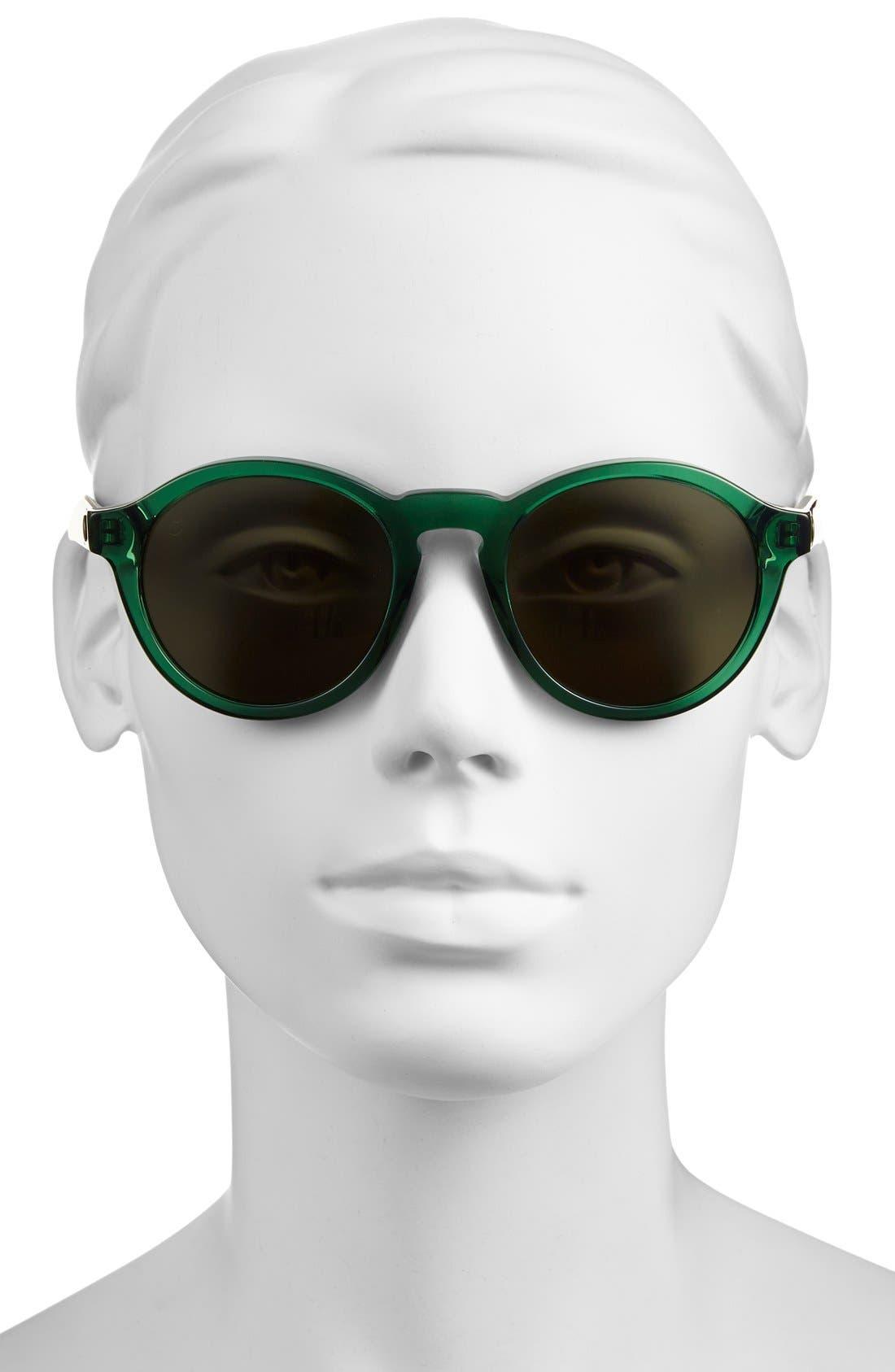 'Reprise' 50mm Round Sunglasses,                             Alternate thumbnail 10, color,