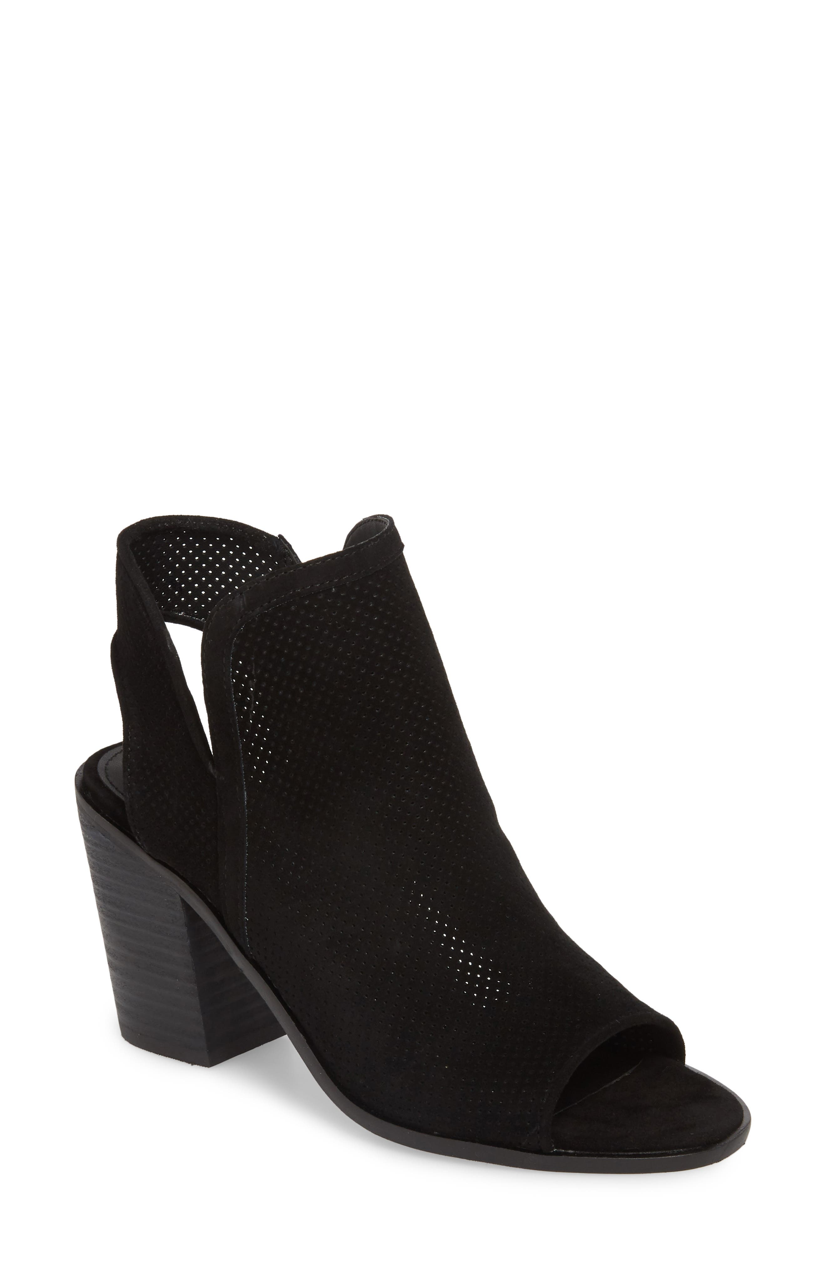 Maxine Perforated Bootie,                             Main thumbnail 1, color,                             006