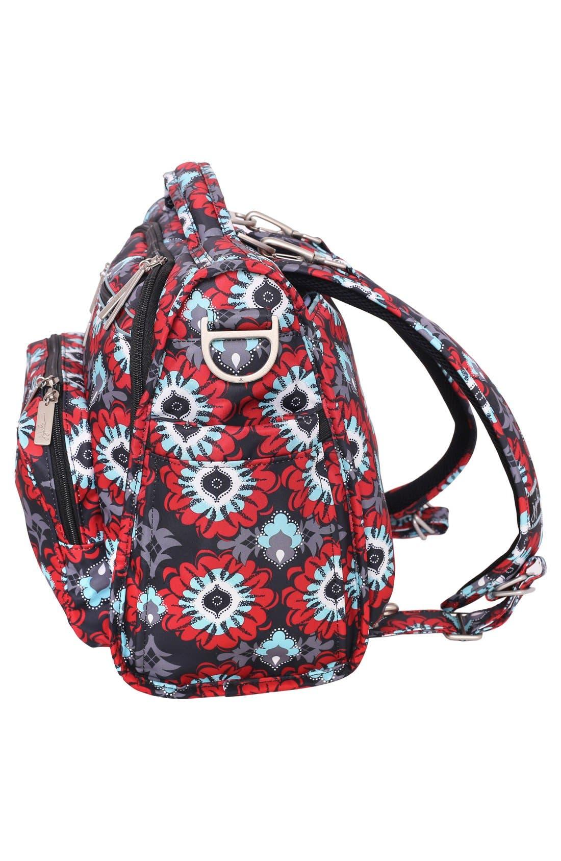 'BFF' Diaper Bag,                             Alternate thumbnail 4, color,                             SWEET SCARLET