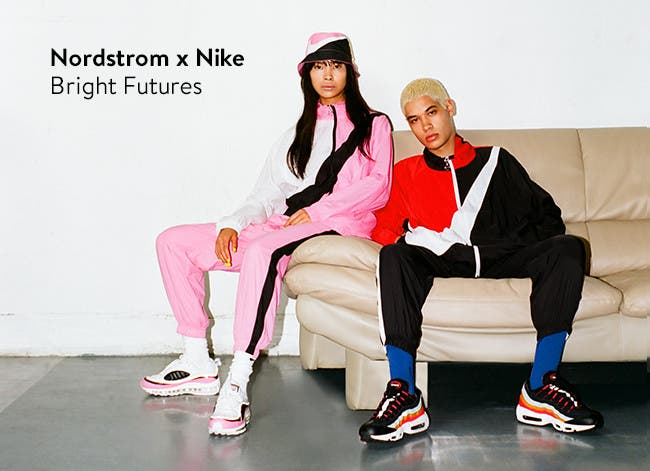 Bright futures: neon clothing, shoes and accessories from Nordstrom x Nike.