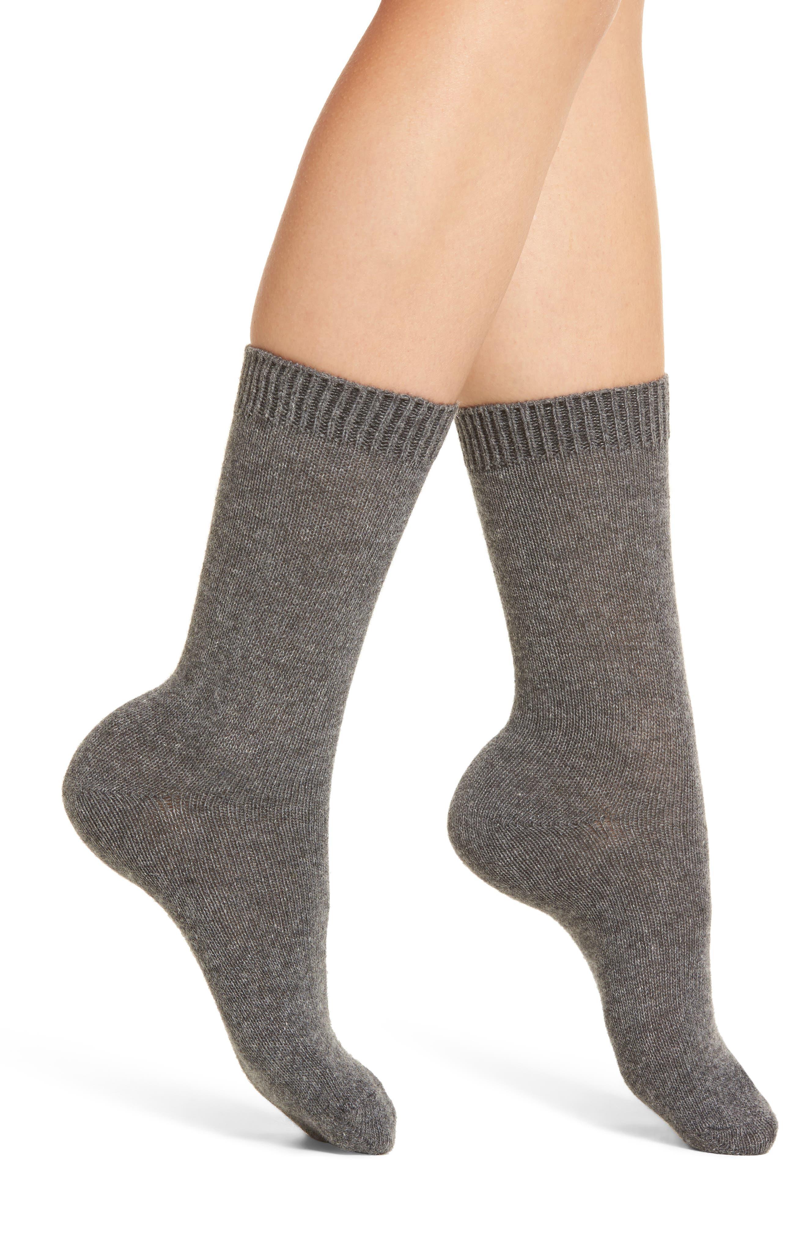 'Luxury' Crew Socks,                         Main,                         color,