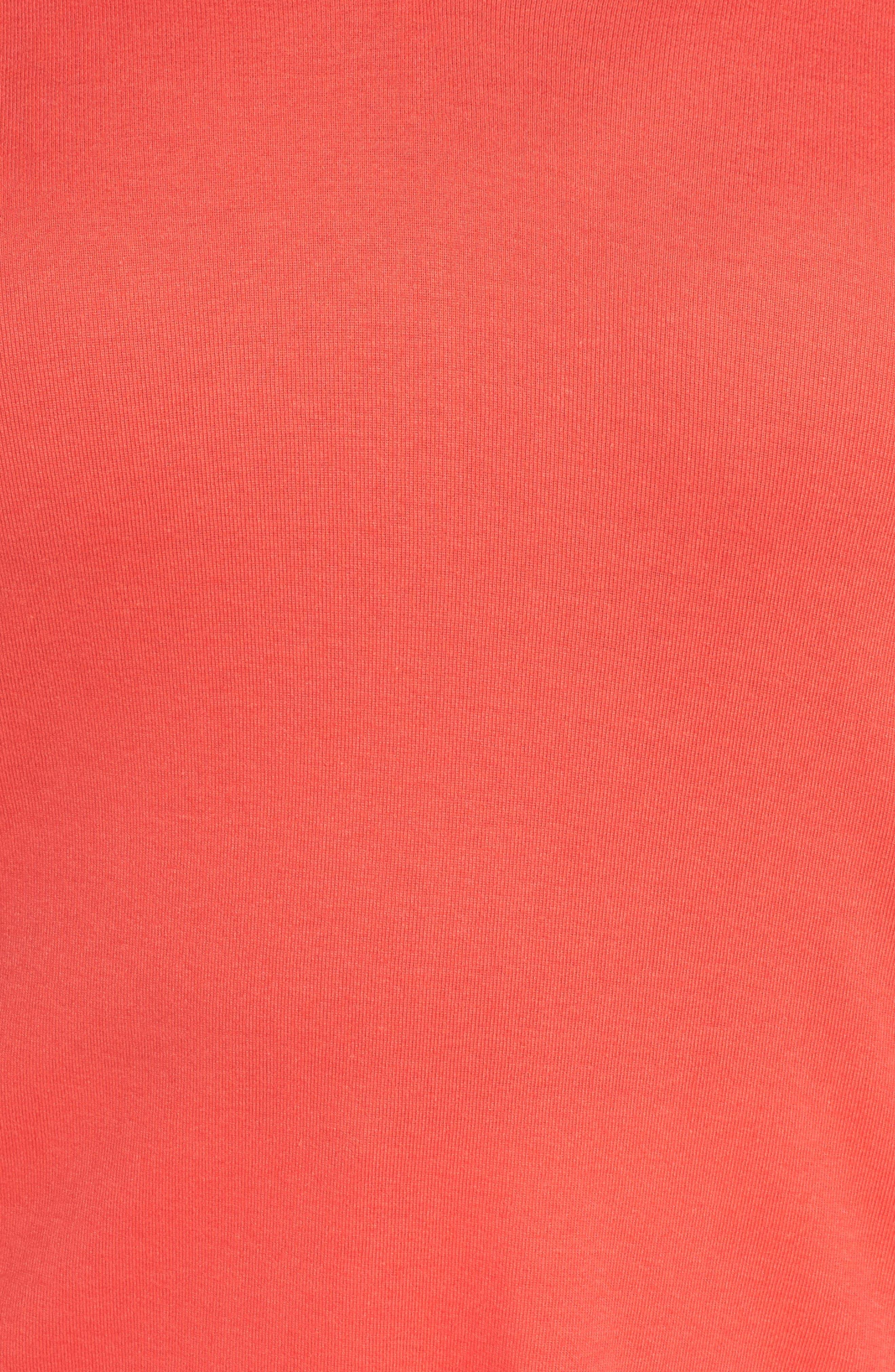 Short Sleeve V-Neck Tee,                             Alternate thumbnail 162, color,
