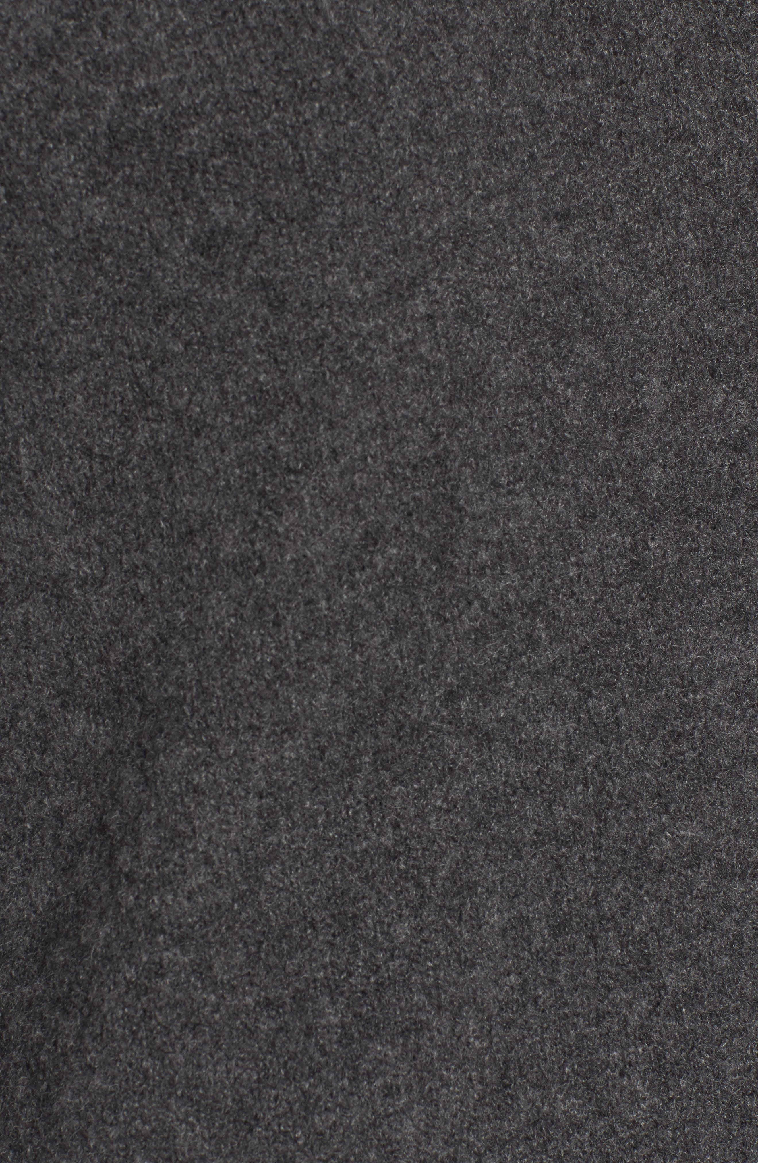 Stretch Cashmere Mock Neck Sweater,                             Alternate thumbnail 5, color,                             069