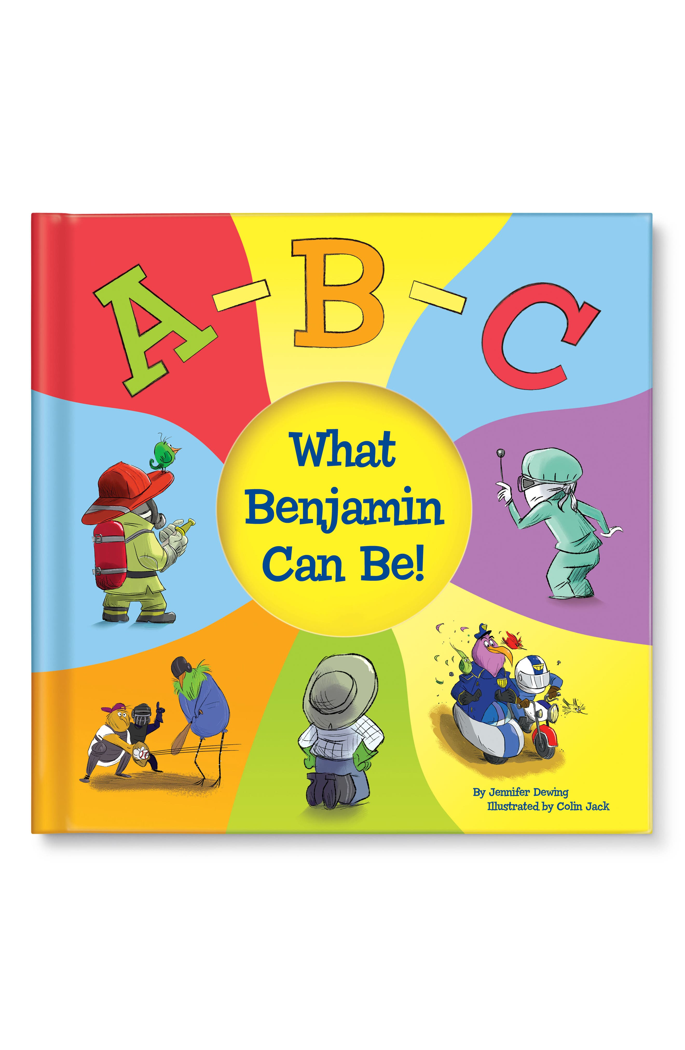 Abc What I Can Be Personalized Book Size One Size  Yellow