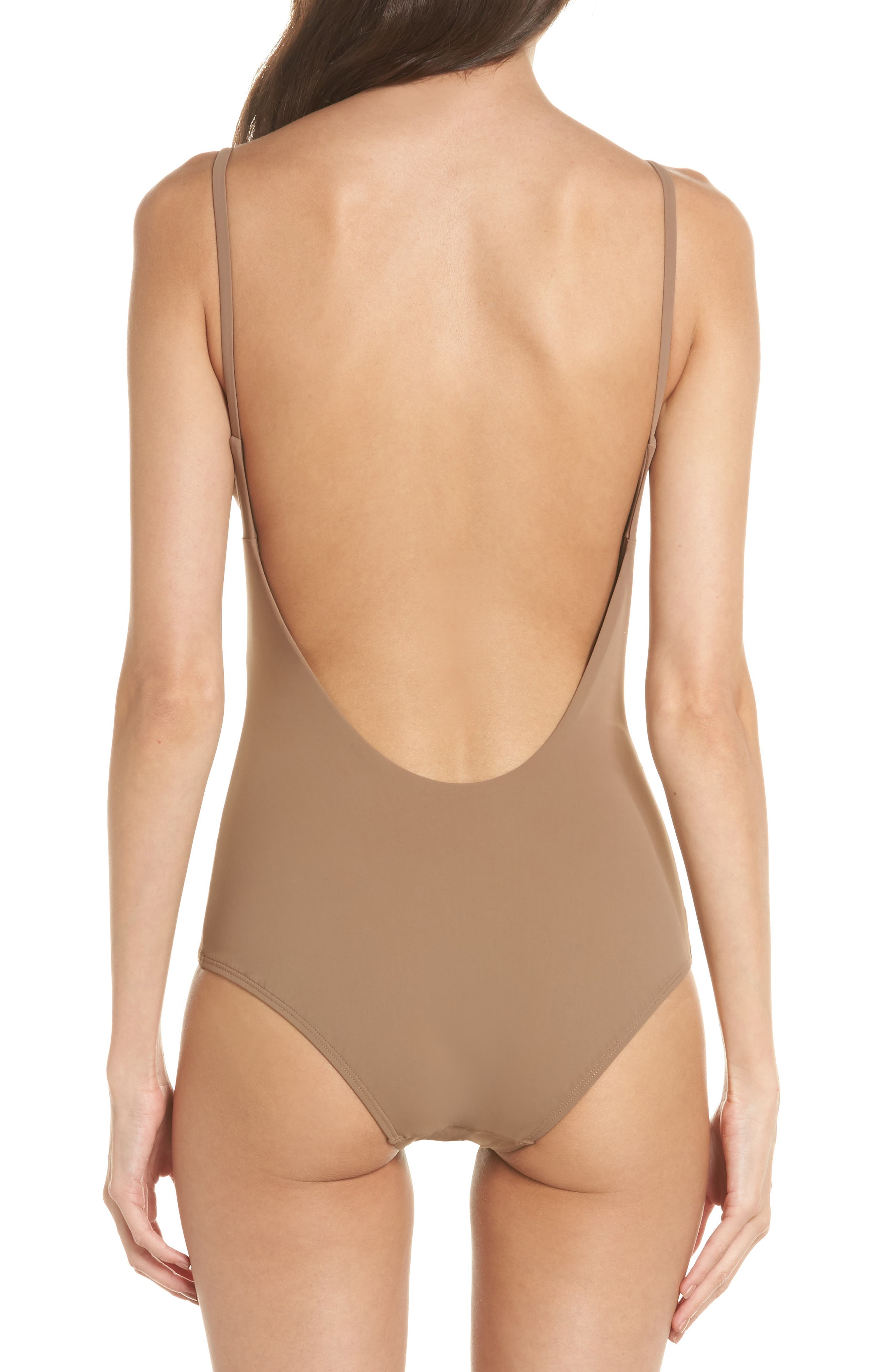Marina One-Piece Swimsuit,                             Alternate thumbnail 2, color,