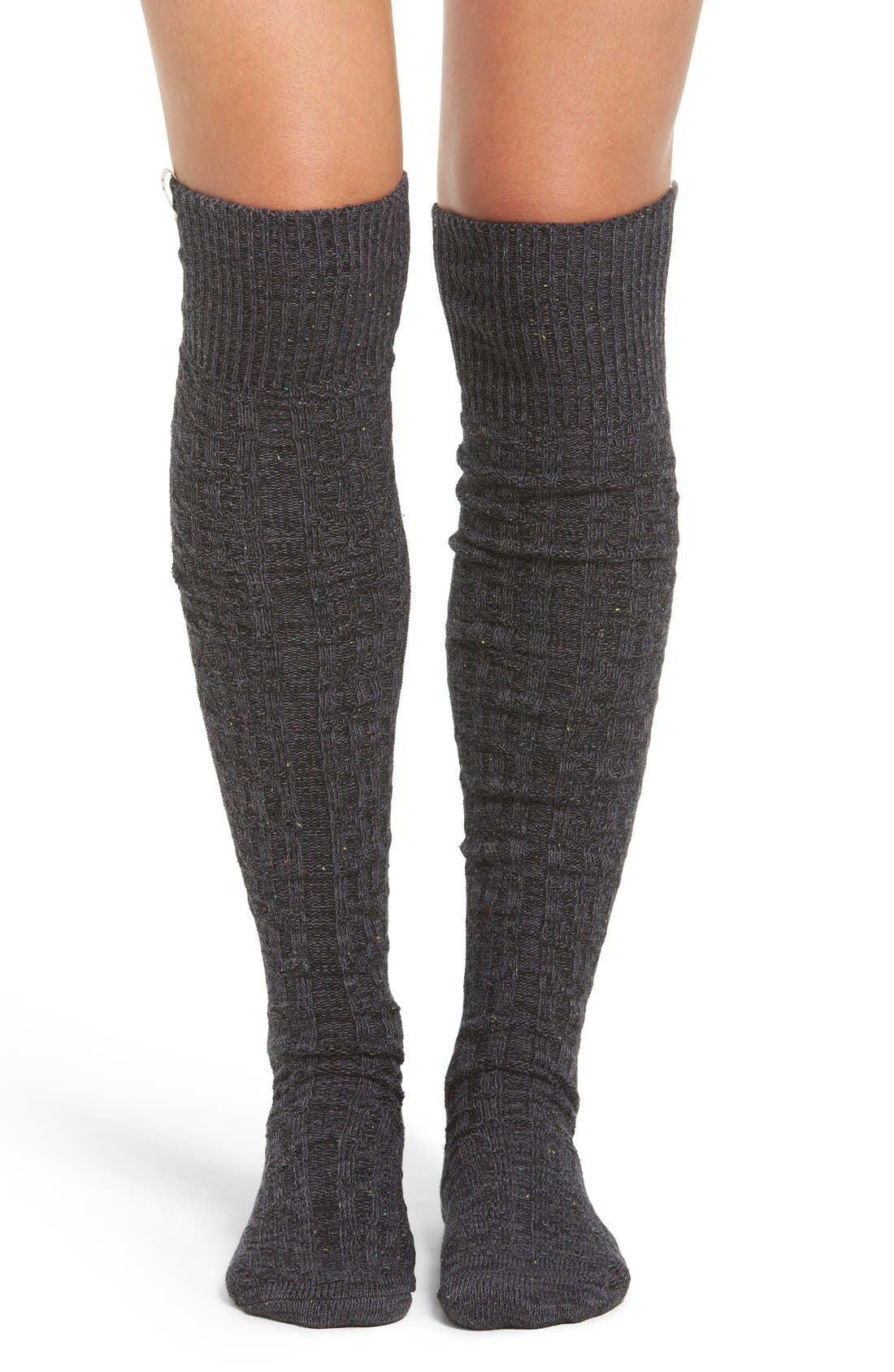 Over the Knee Socks,                             Main thumbnail 1, color,                             001