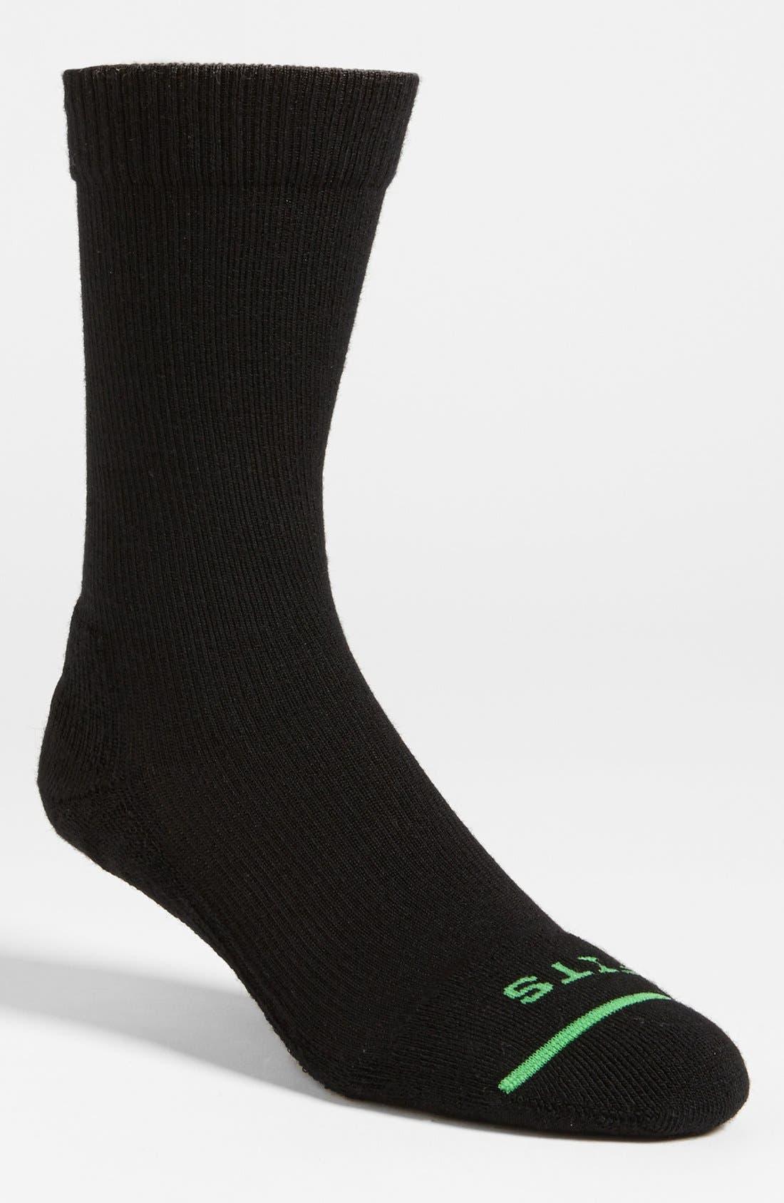 Co. Crew Socks,                             Main thumbnail 1, color,                             001