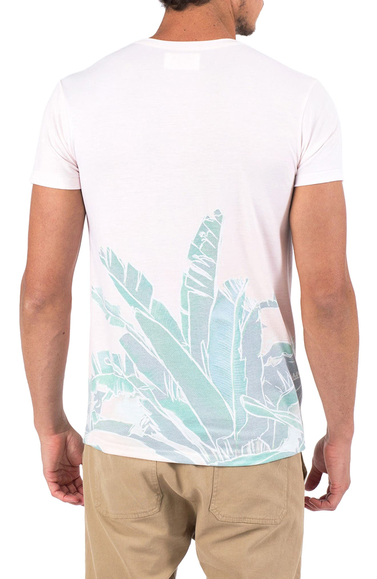 Banana Leaf Graphic T-Shirt,                             Alternate thumbnail 2, color,                             100