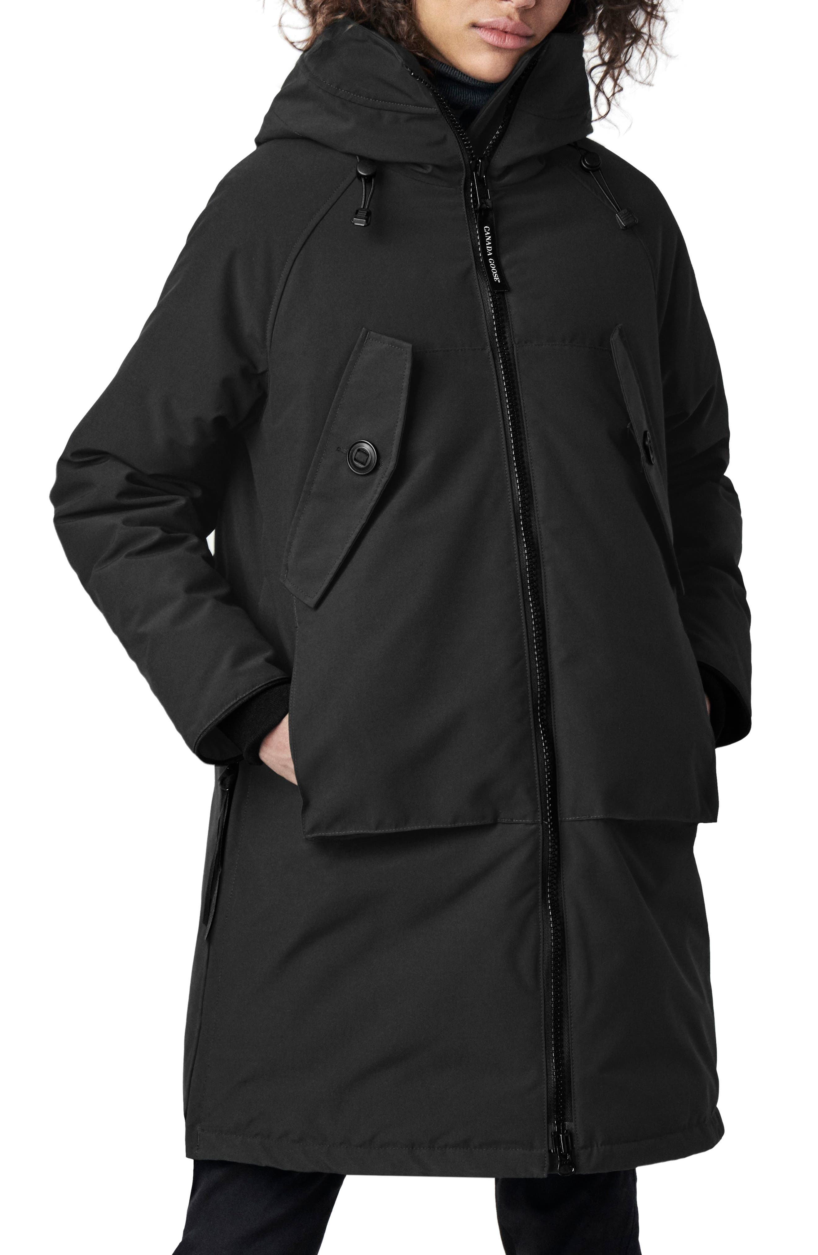Canada Goose Olympia Down Parka, (0) - Black